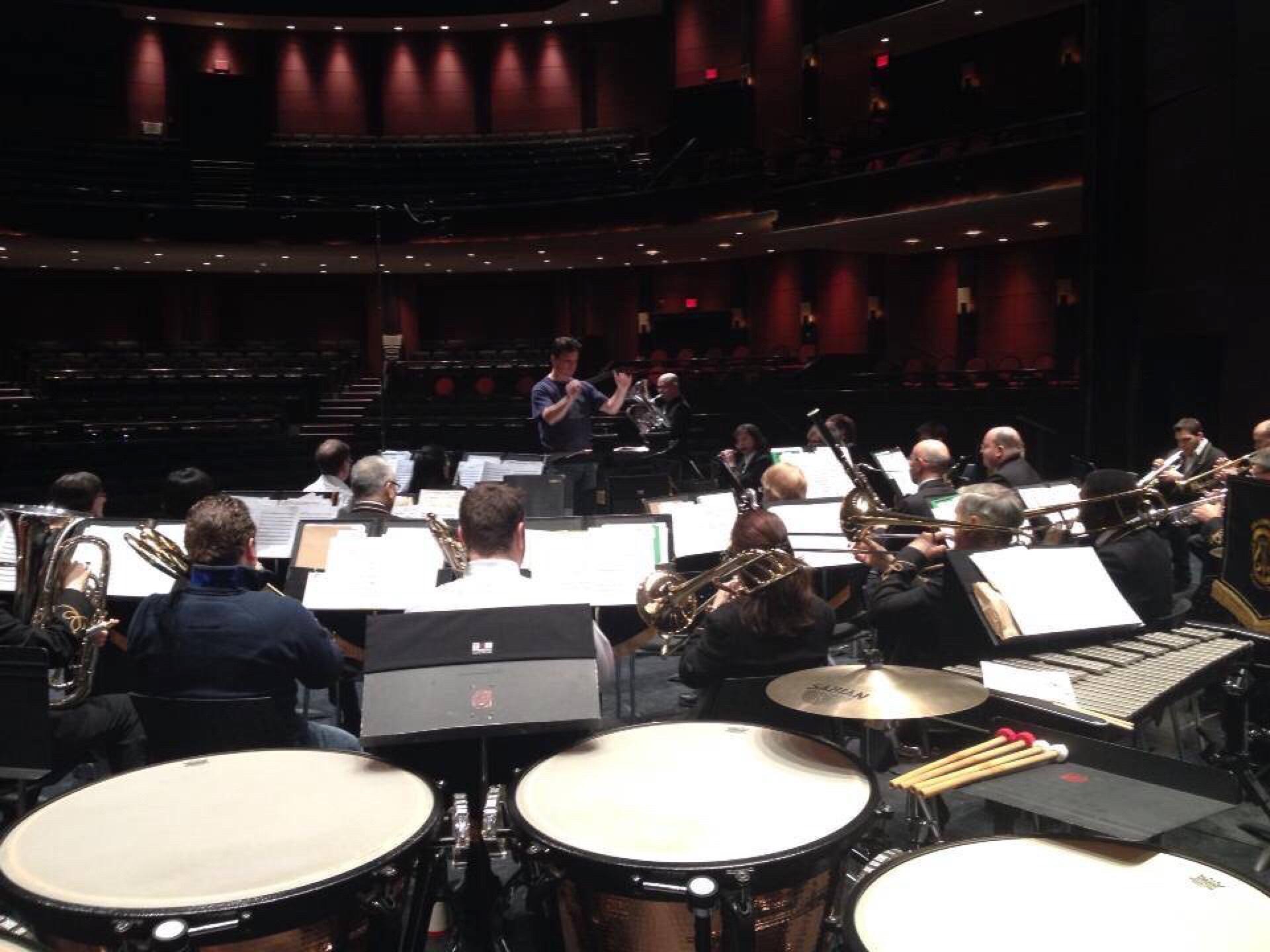 -Brampton Concert Band at the Rose Theatre