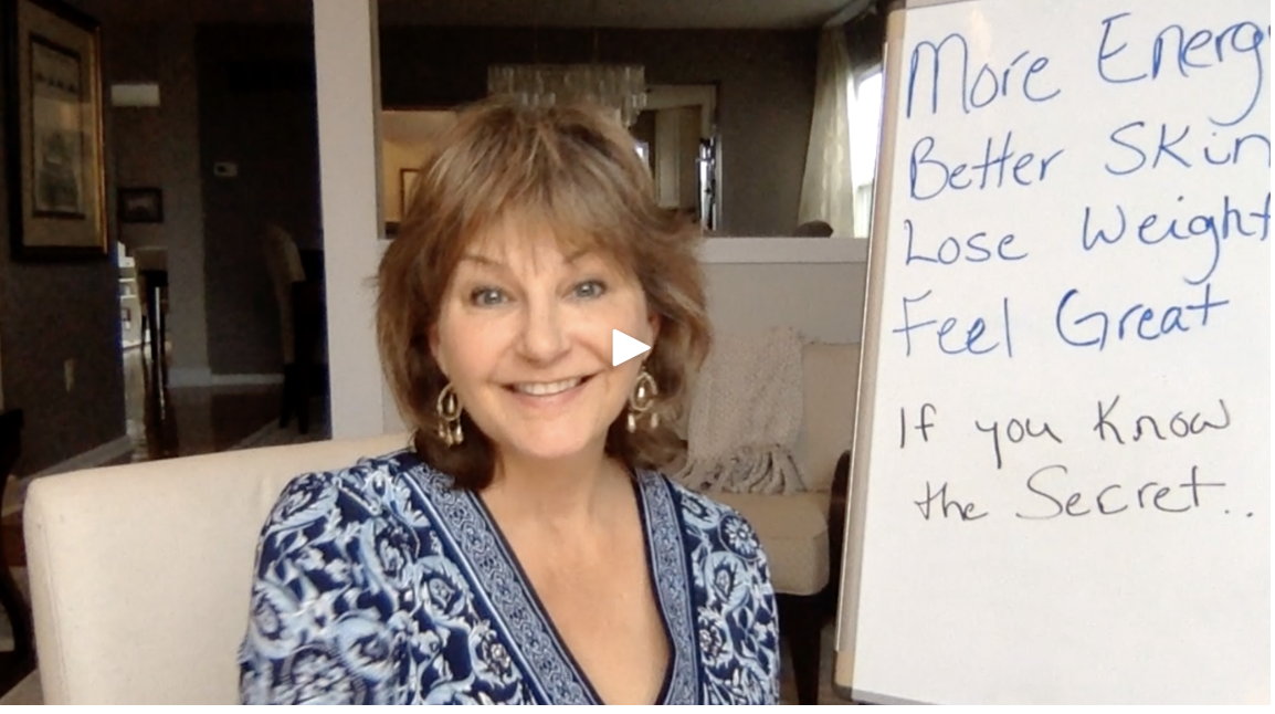 Watch this video first to find out the SECRET to more energy, glowing skin, feeling amazing and even losing weight!