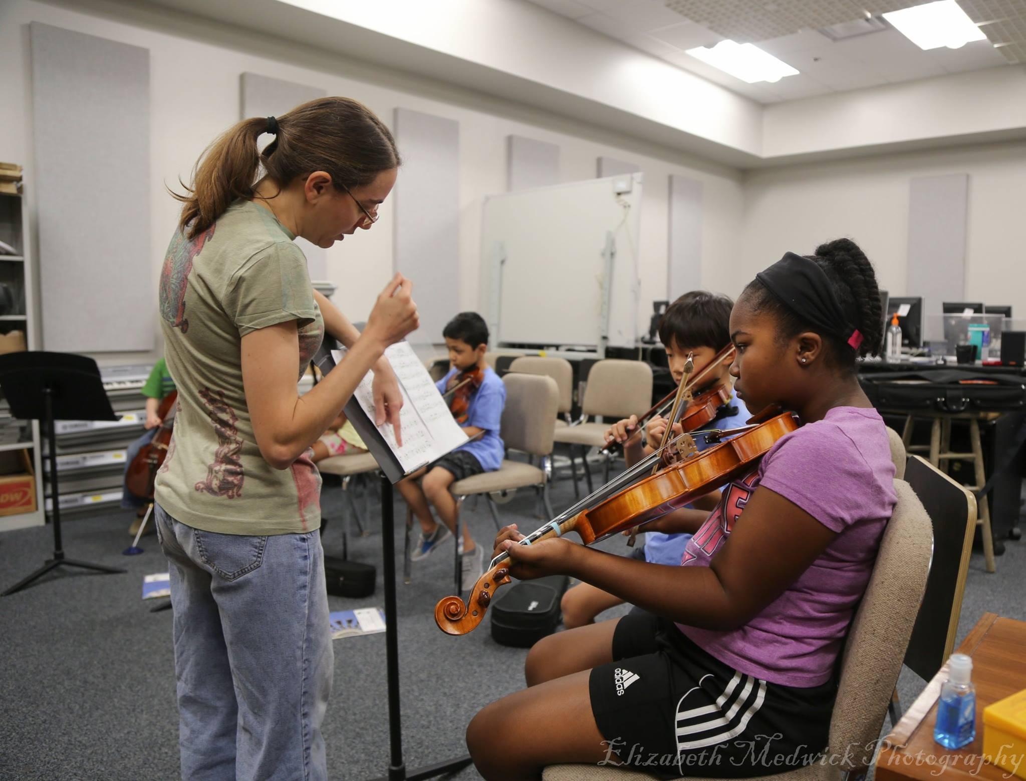 Ms. Nikki's Beginner Strings Class