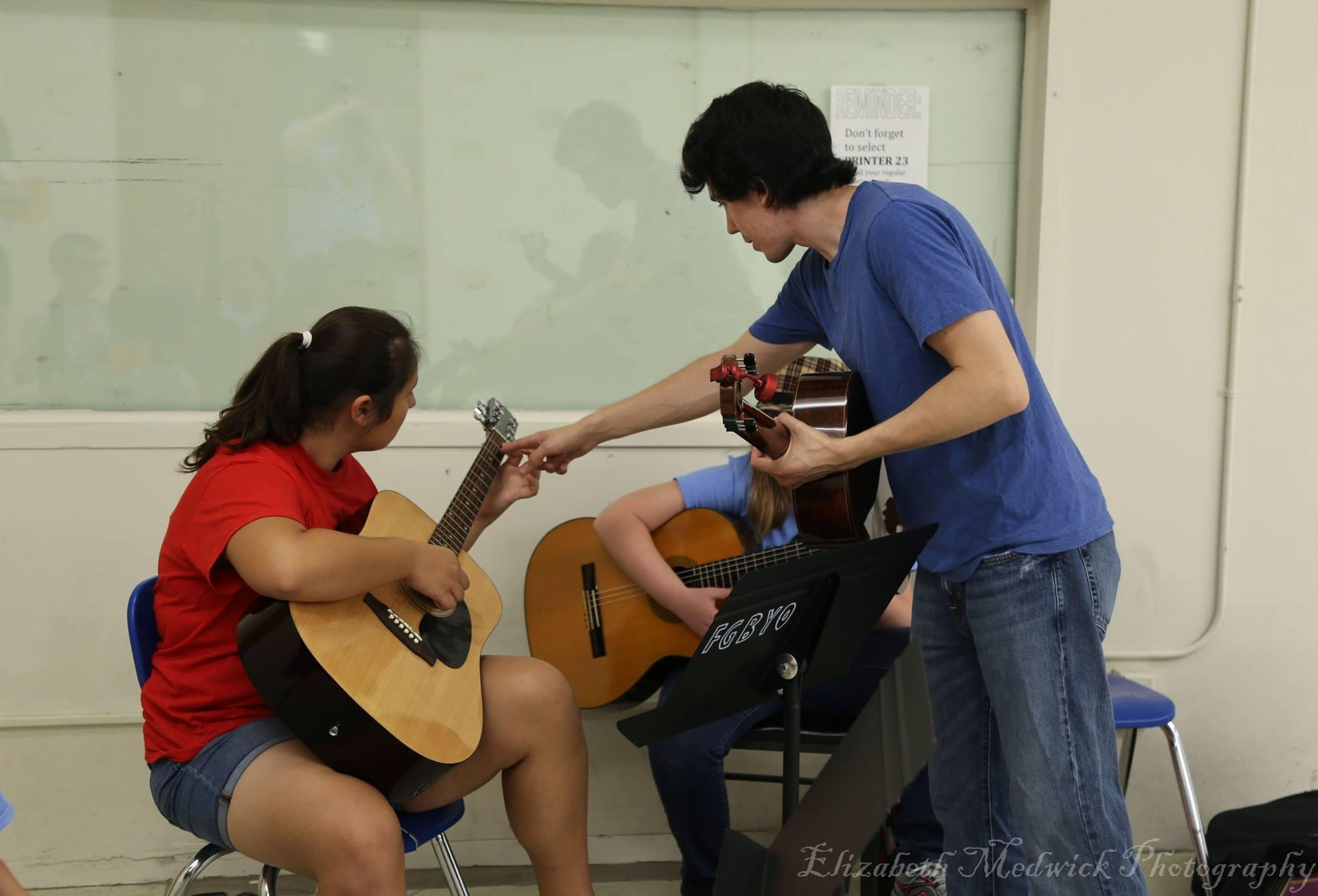 Mr. Taylor Seybert's Guitar Class