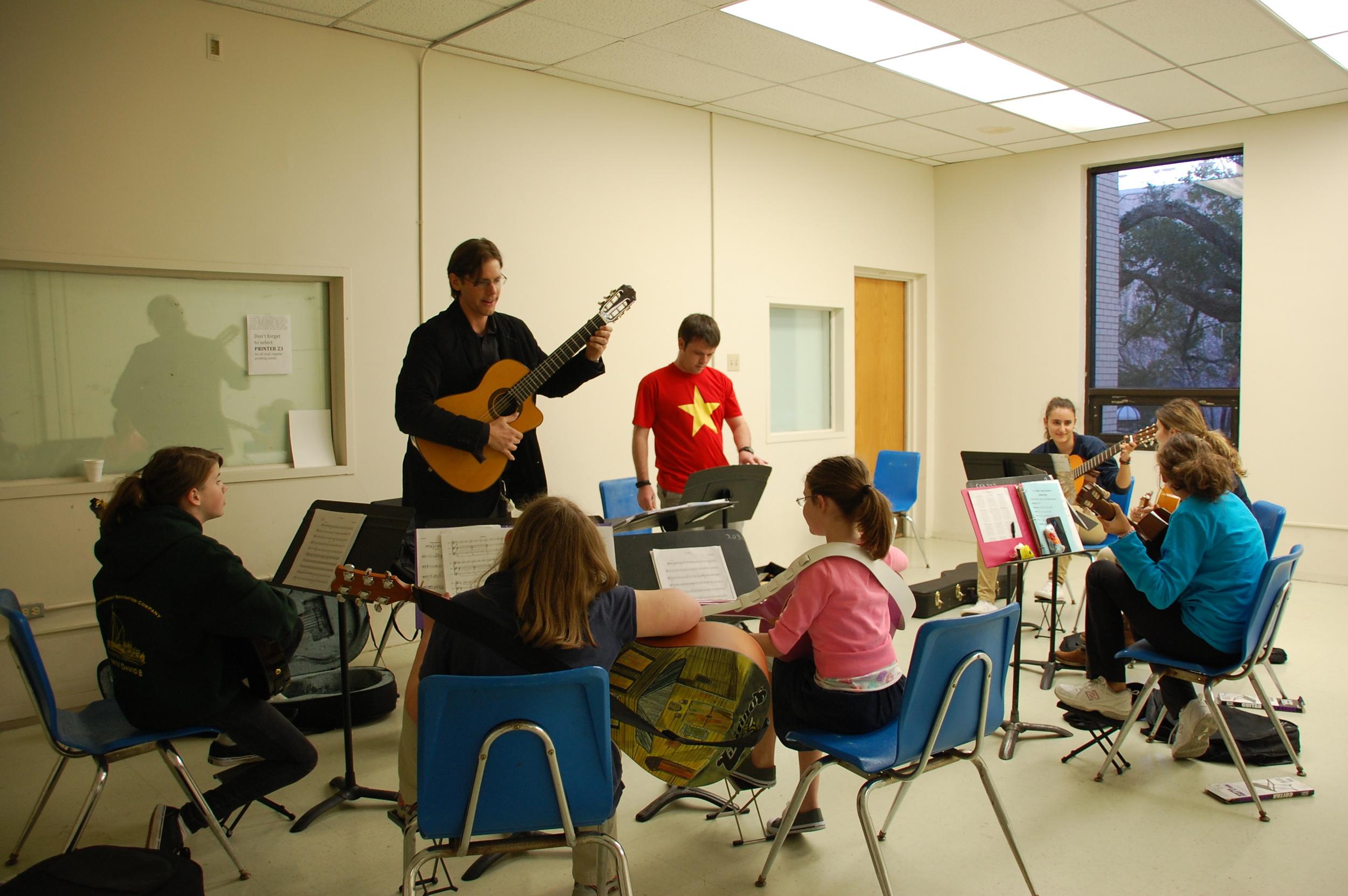 Dr. Jay Kacherski's Guitar Class