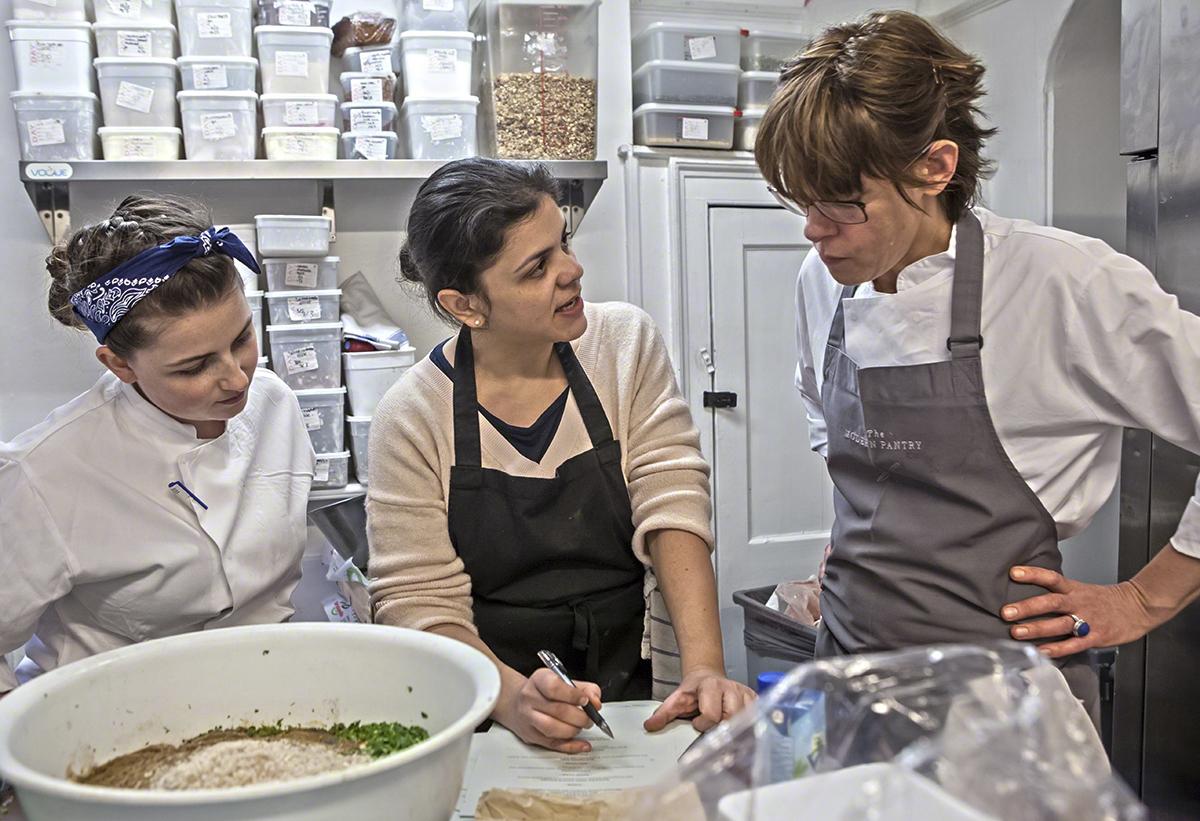 April Partridge, Sabrina Ghayour & Anna Hansen