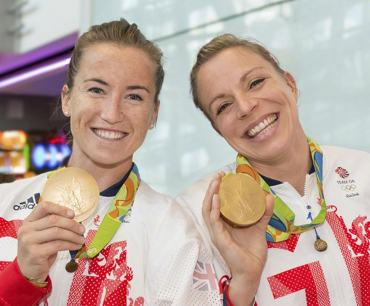 Maddie Hinch & Kate Richardson-Walsh