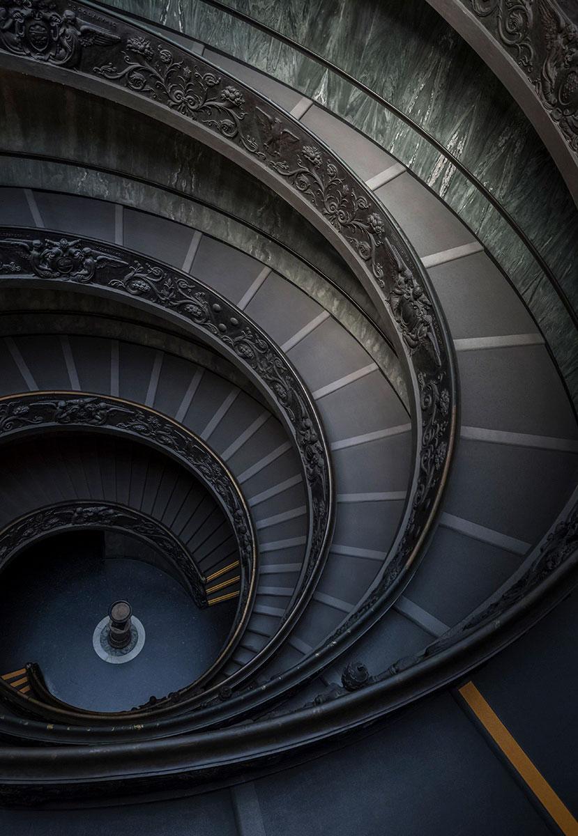 Bramante Staircase - Vatican City