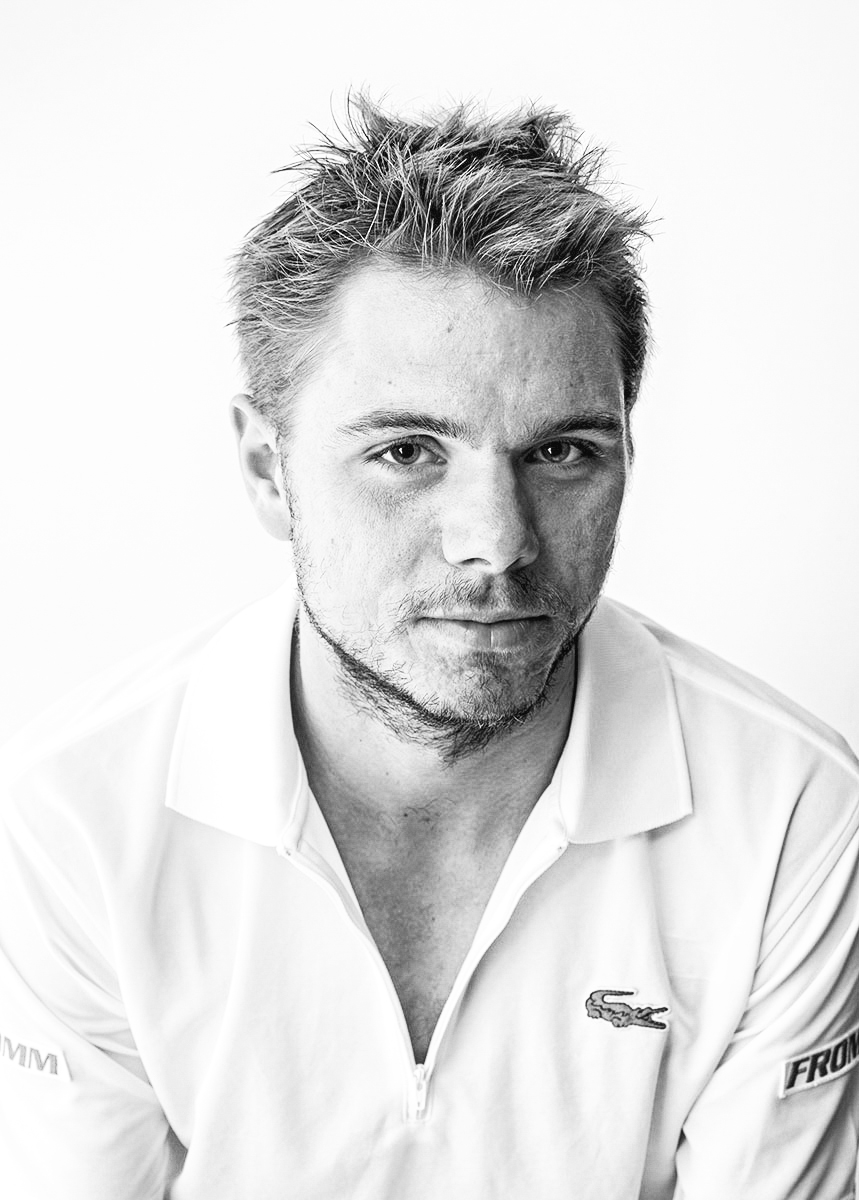 Stan Wawrinka - Development images for TopSpin video game.
