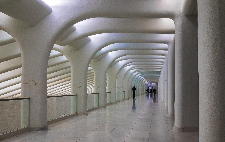 Aqua Glow Corridor