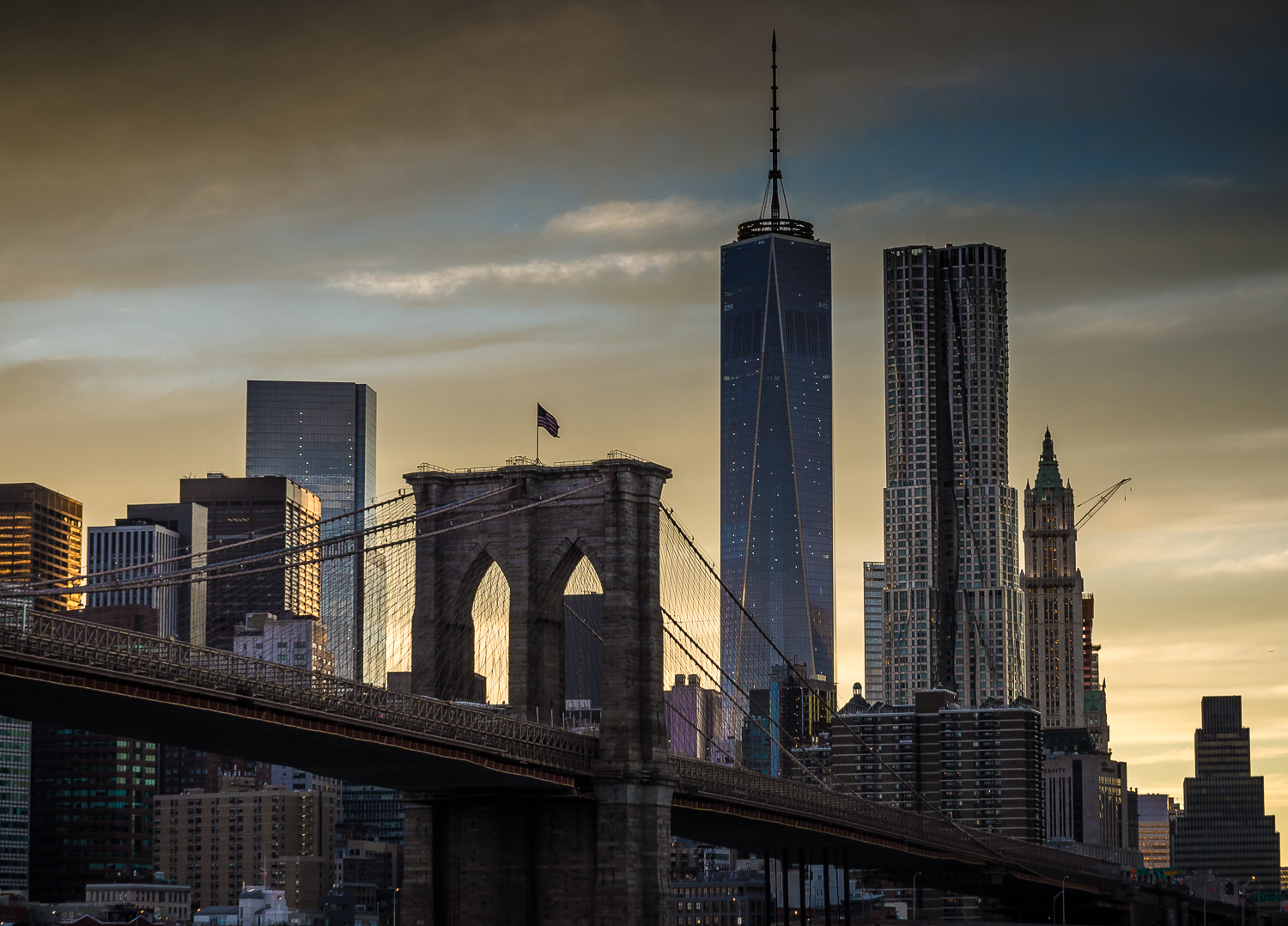 Under the Brooklyn Bridge - September 14th 2014