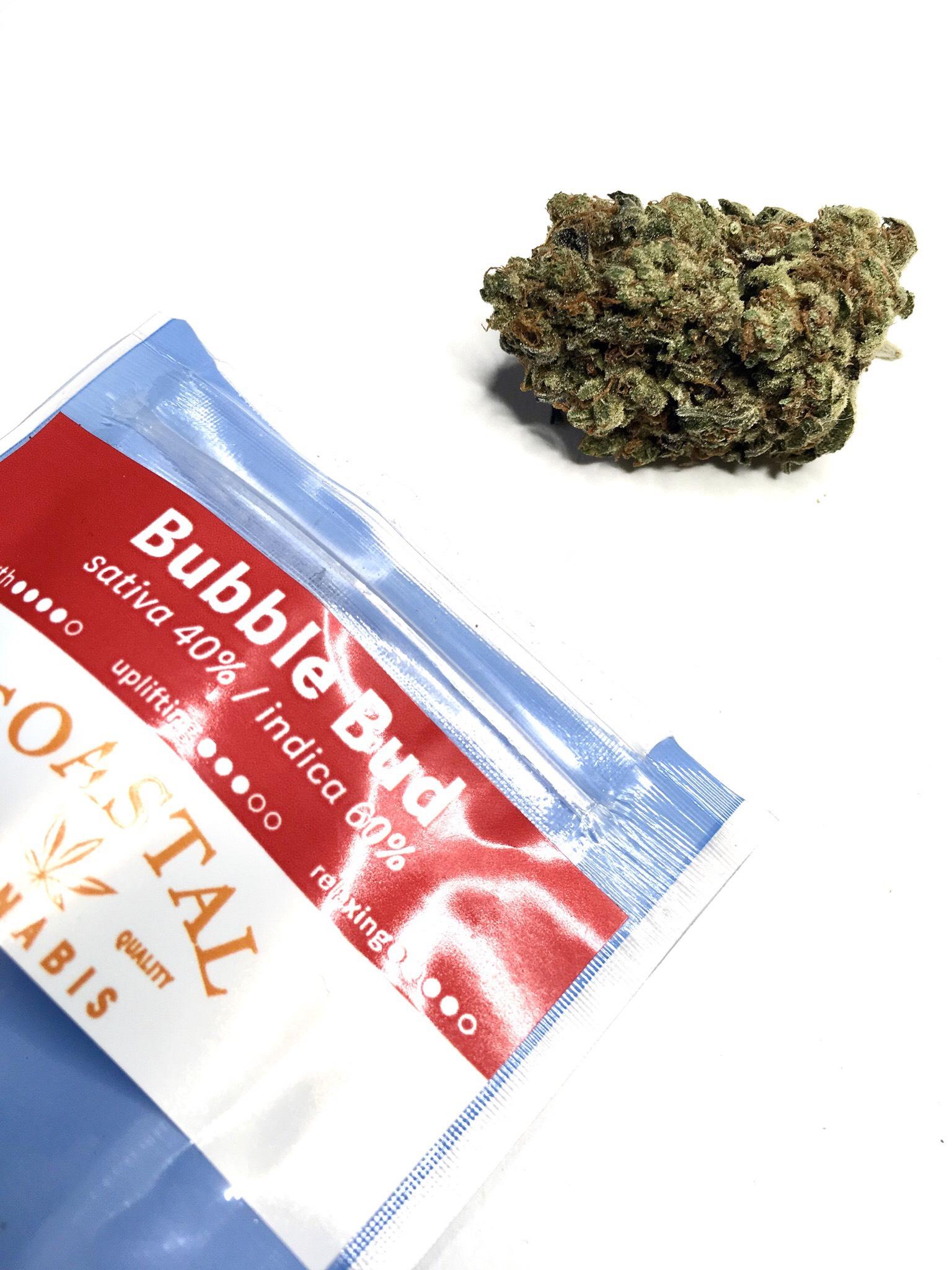 Bubble Bud Coastal Cannabis Ganja Goddess Seattle