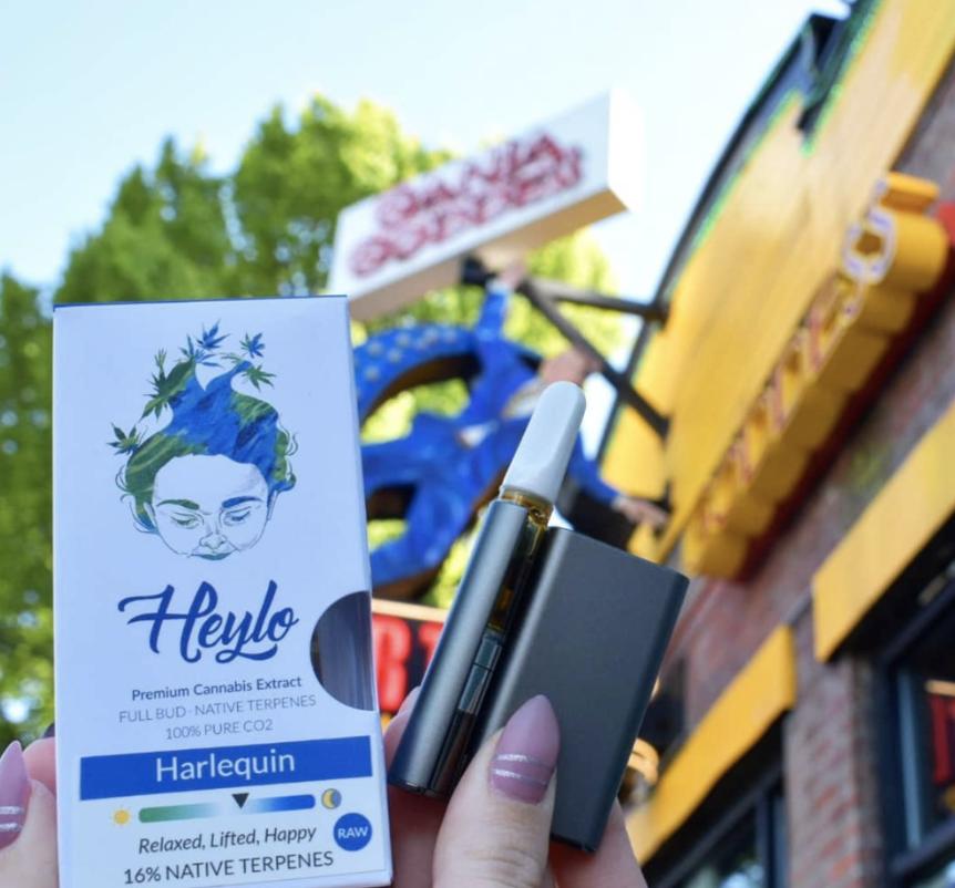 Heylo Cannabis at Ganja Goddess Seattle