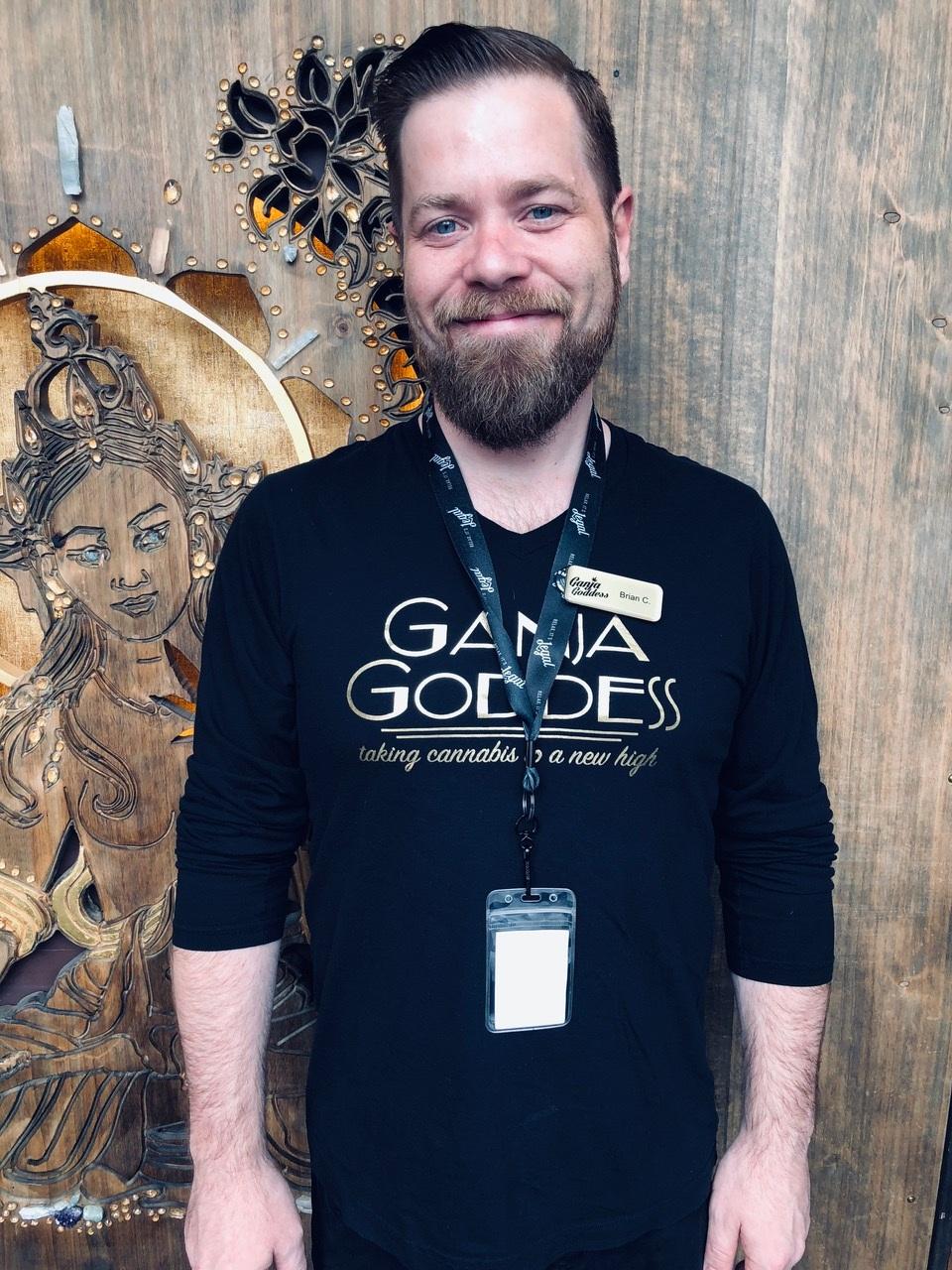 Budtender Brian Ganja Goddess Seattle