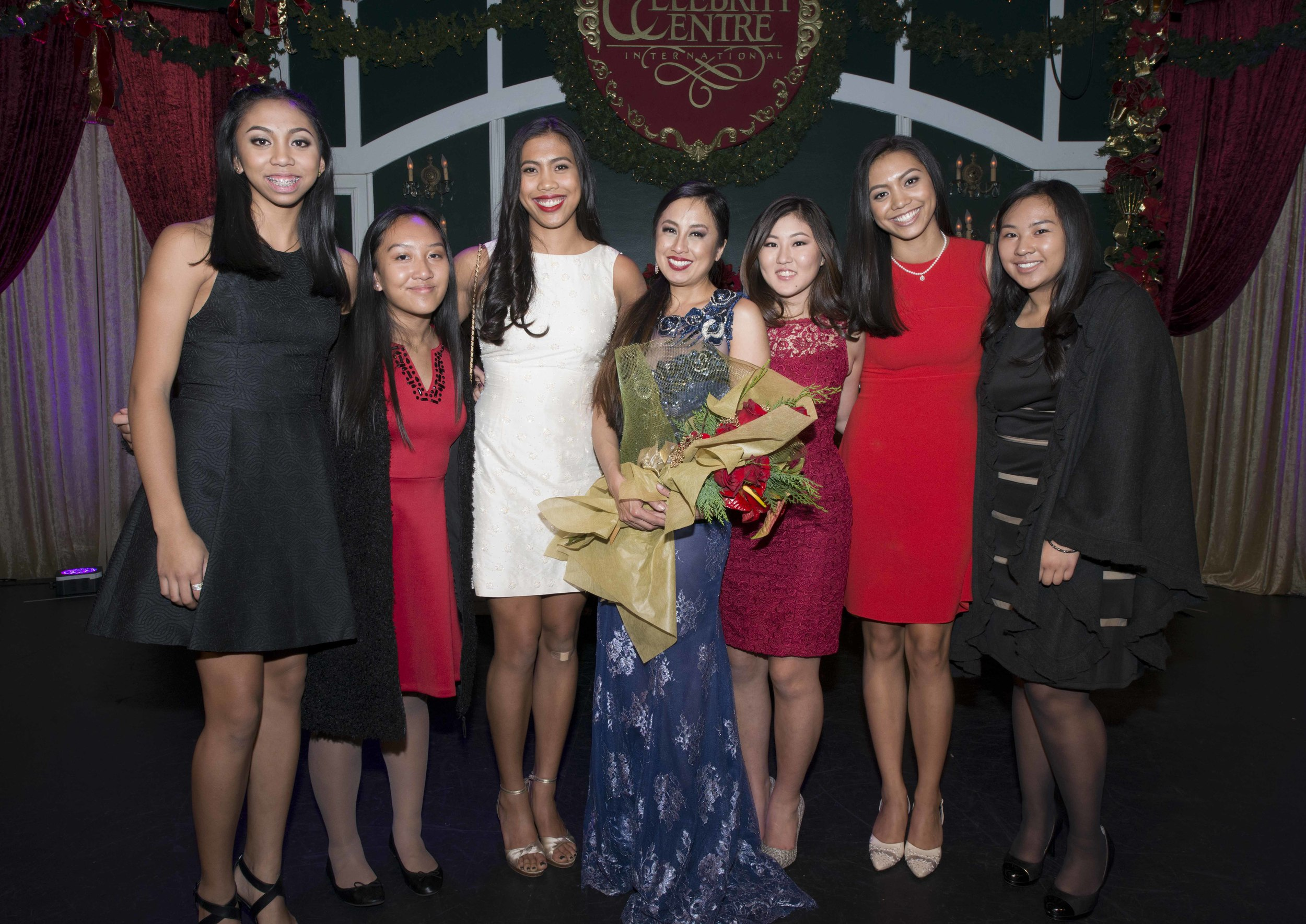 Stephanie Reese with F2S Founders and F2S Archer President