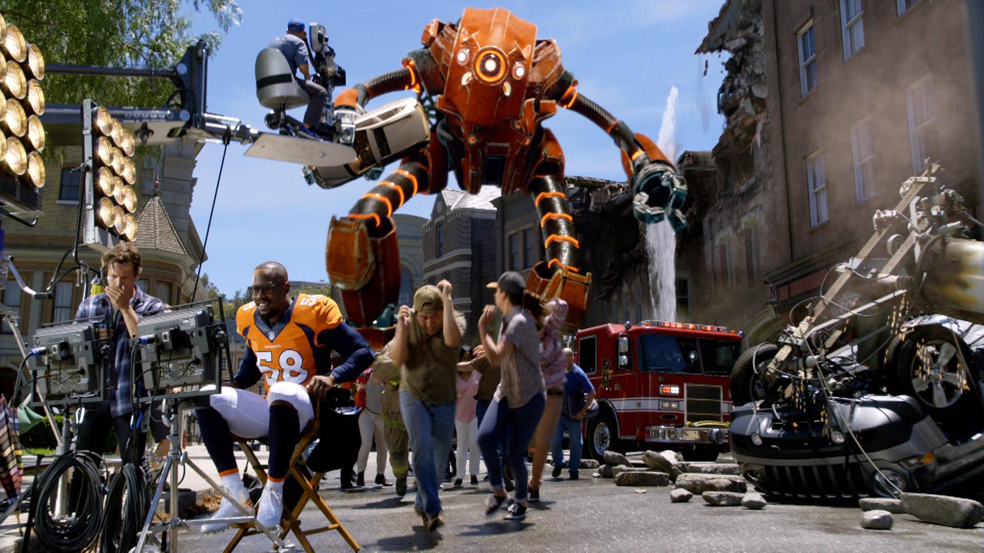 Sunday Night Football - Biggest Stage     Art Director - VFX Supervisor