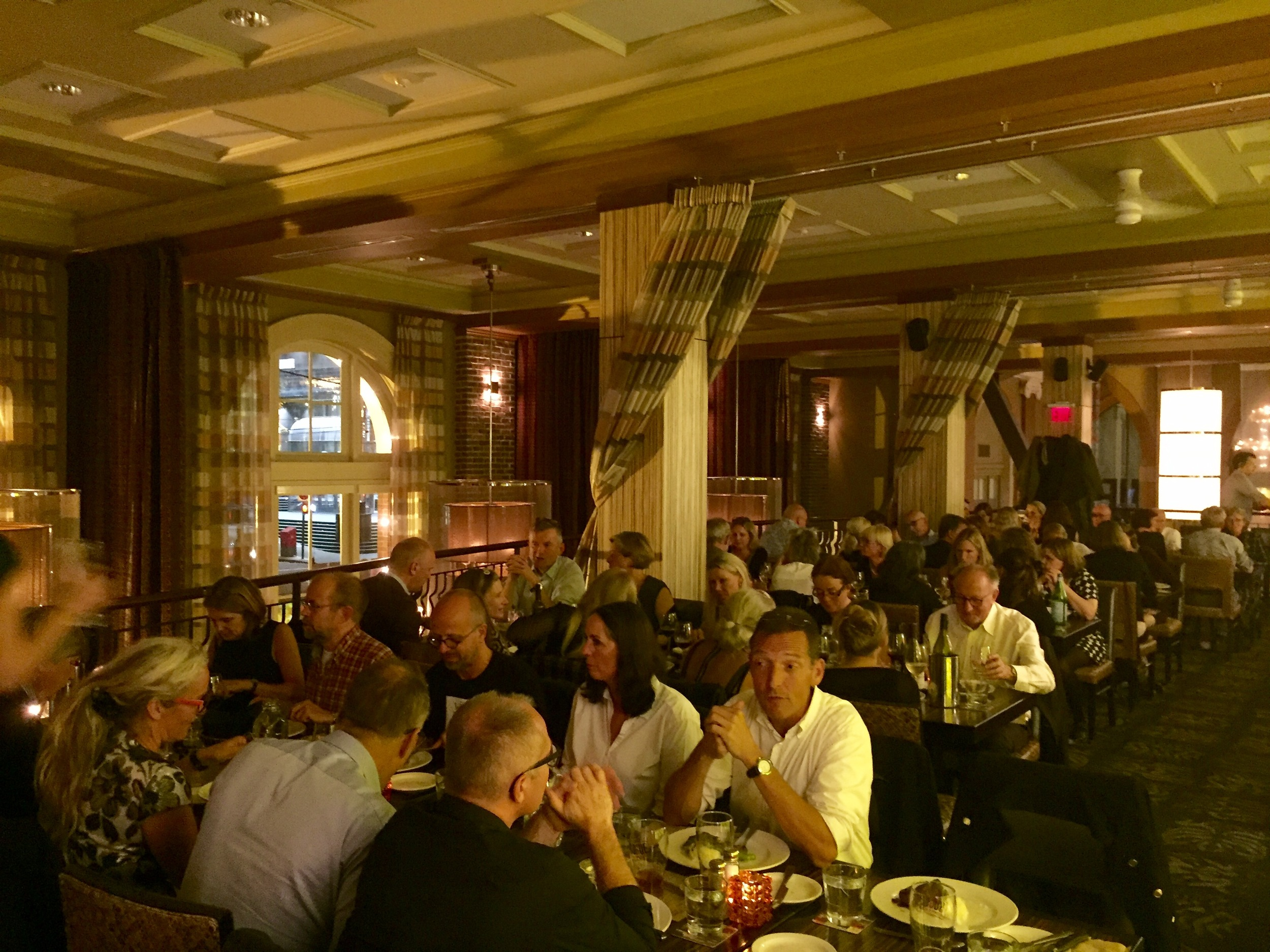 Over 50 deltagere til 'Danskermiddagen' sidste aften