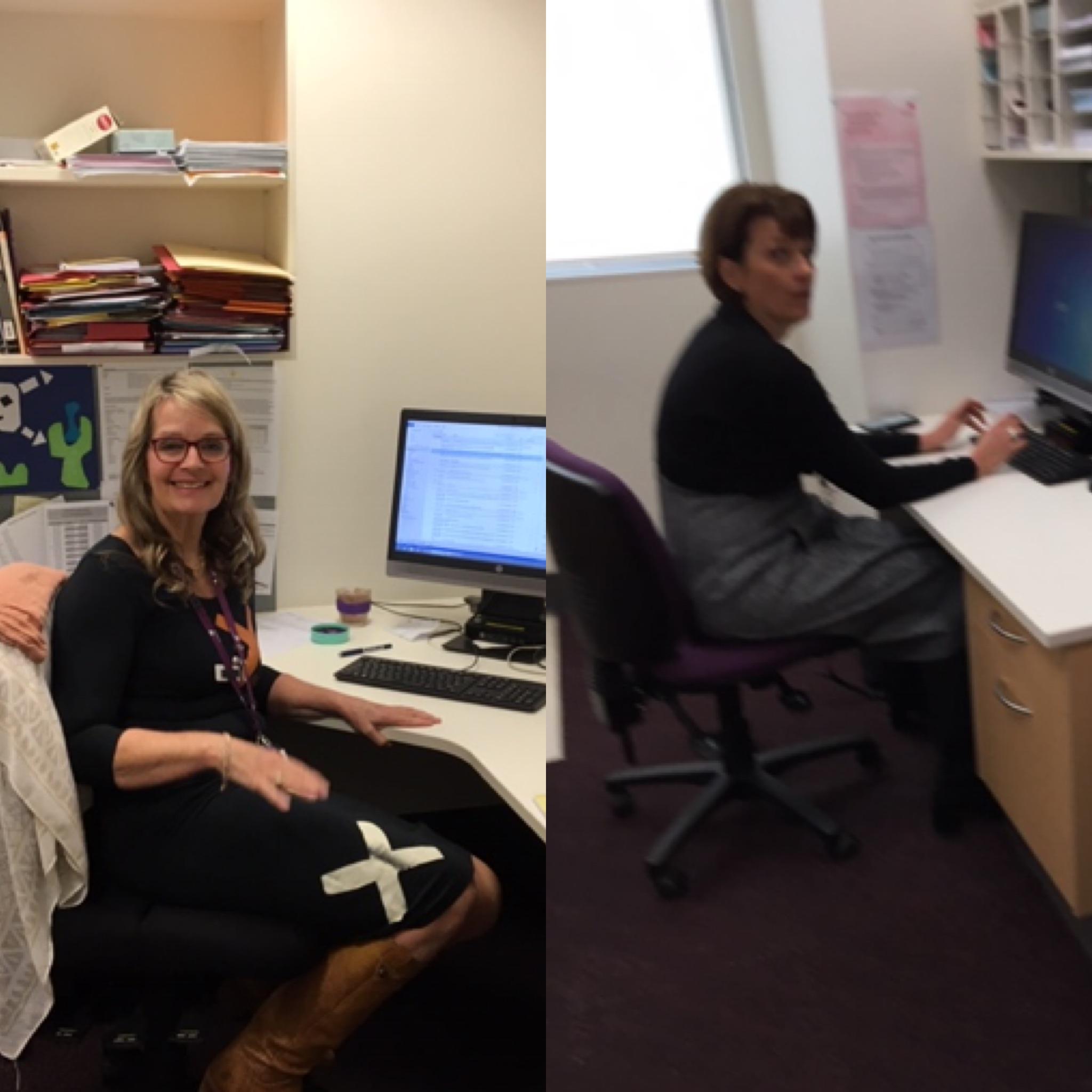 Daglig leder, socialrådgiver Theresa Lynch og lægefaglig leder, addiction specialist Yvonne Bonomo