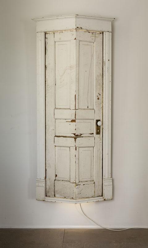 Bent door