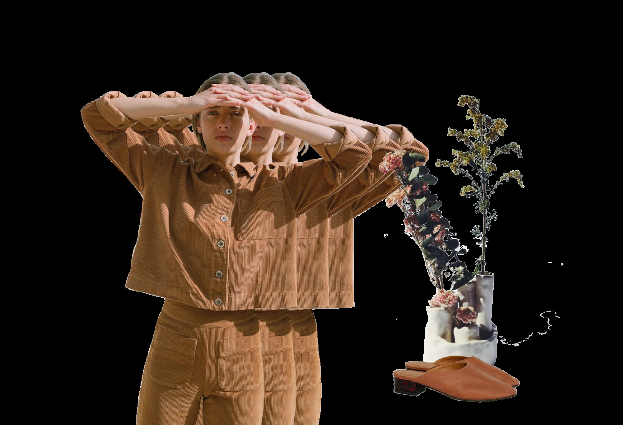 Ceramic/flower arrangement by Cassandra Tavukciyan
