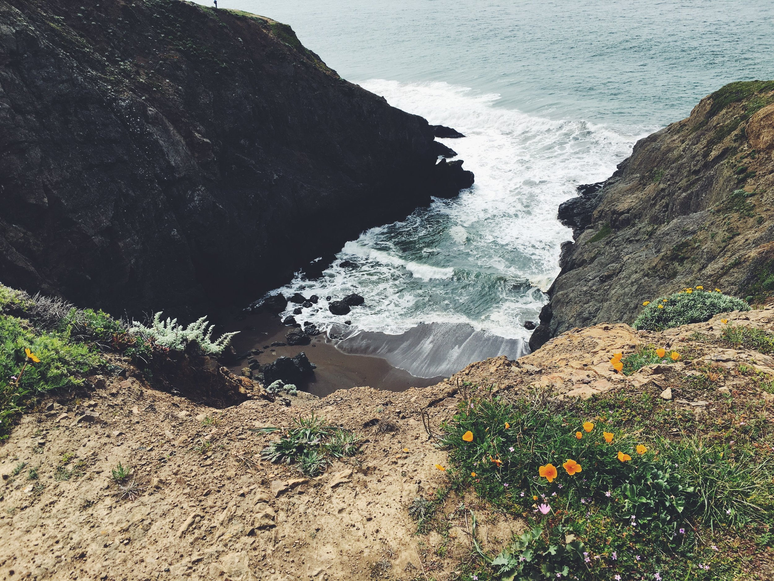 Taken by me at Marin Headlands by San Francisco