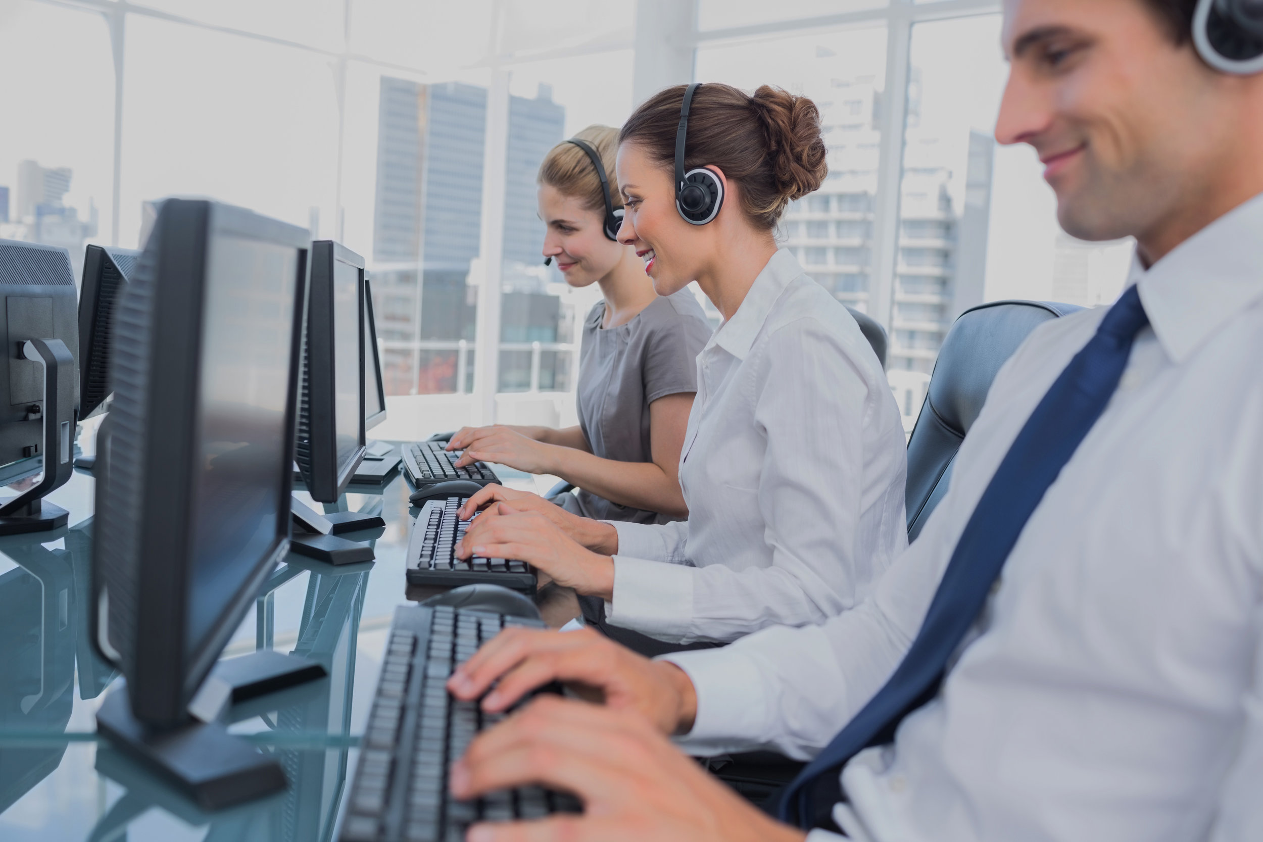 INBOUND & OUTBOUND CALL-CENTER