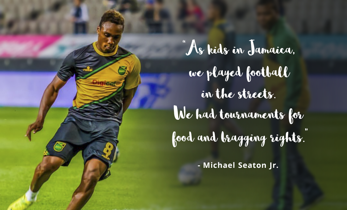 Lagoa Branded client: Nike Athlete + National Team Player, Michael Seaton Jr.
