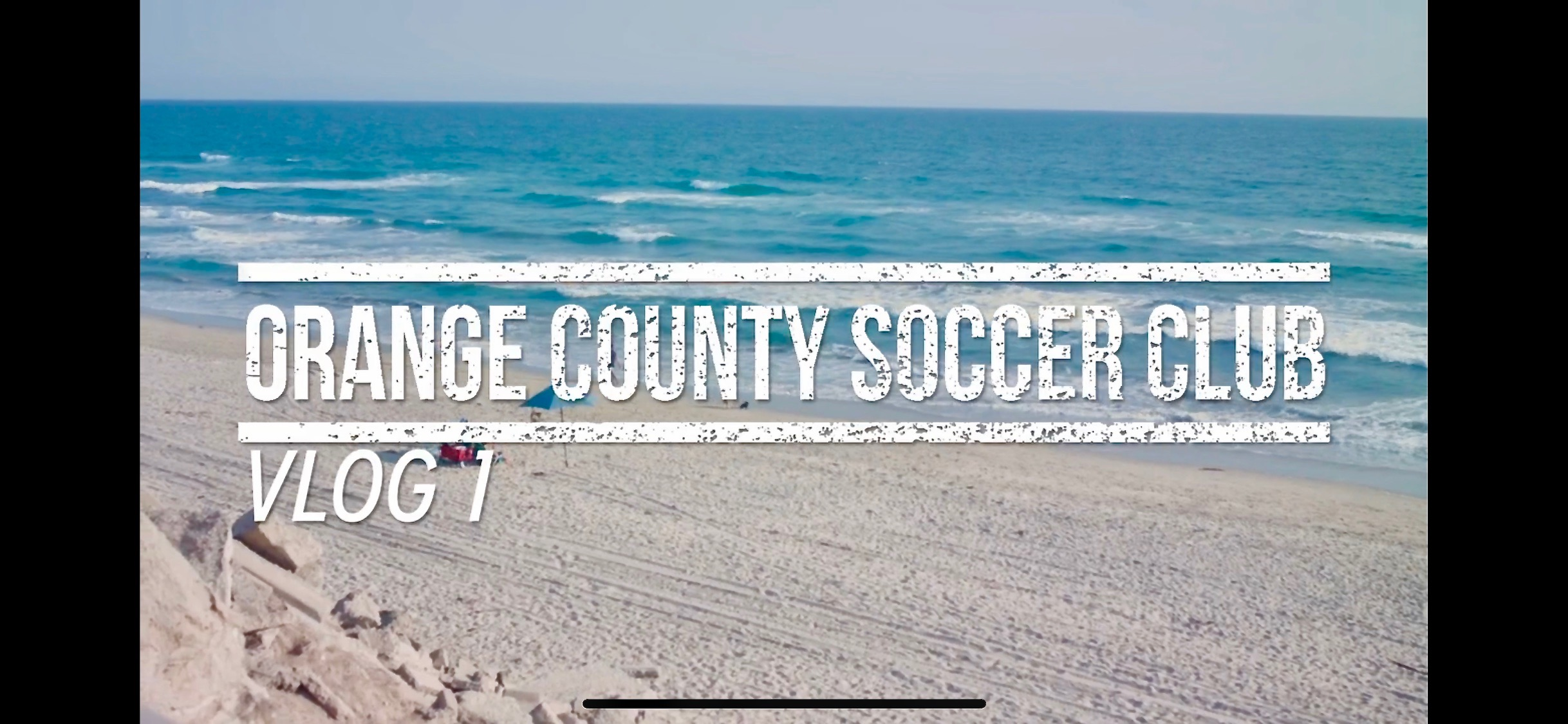 Lagoa productions created and produced Vlog Series for LAFC's 2nd team, OCSC.