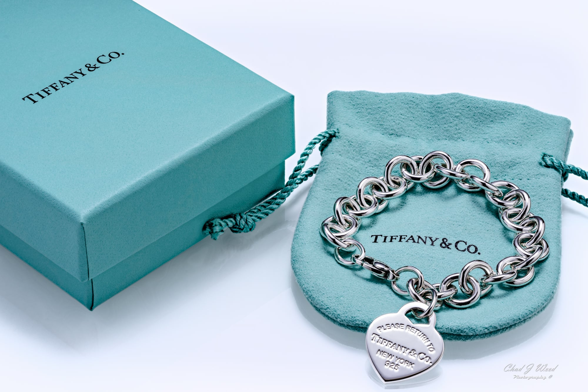 Tiffany Heart Bracelet_Arizona Commercial Photographer Chad J Weed