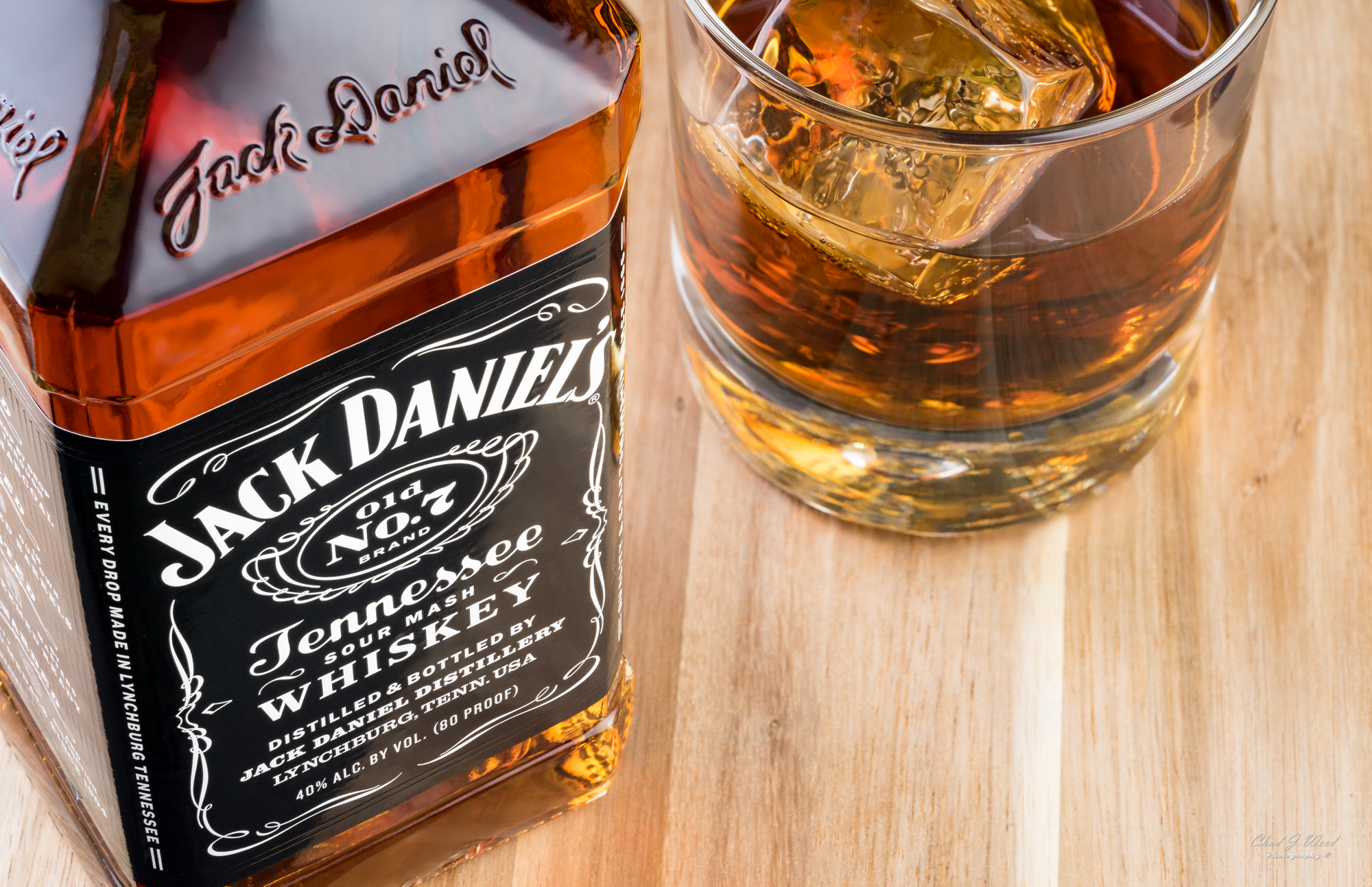 Jack Daniels Old No 7 Arizona Commercial Beverage Photographer