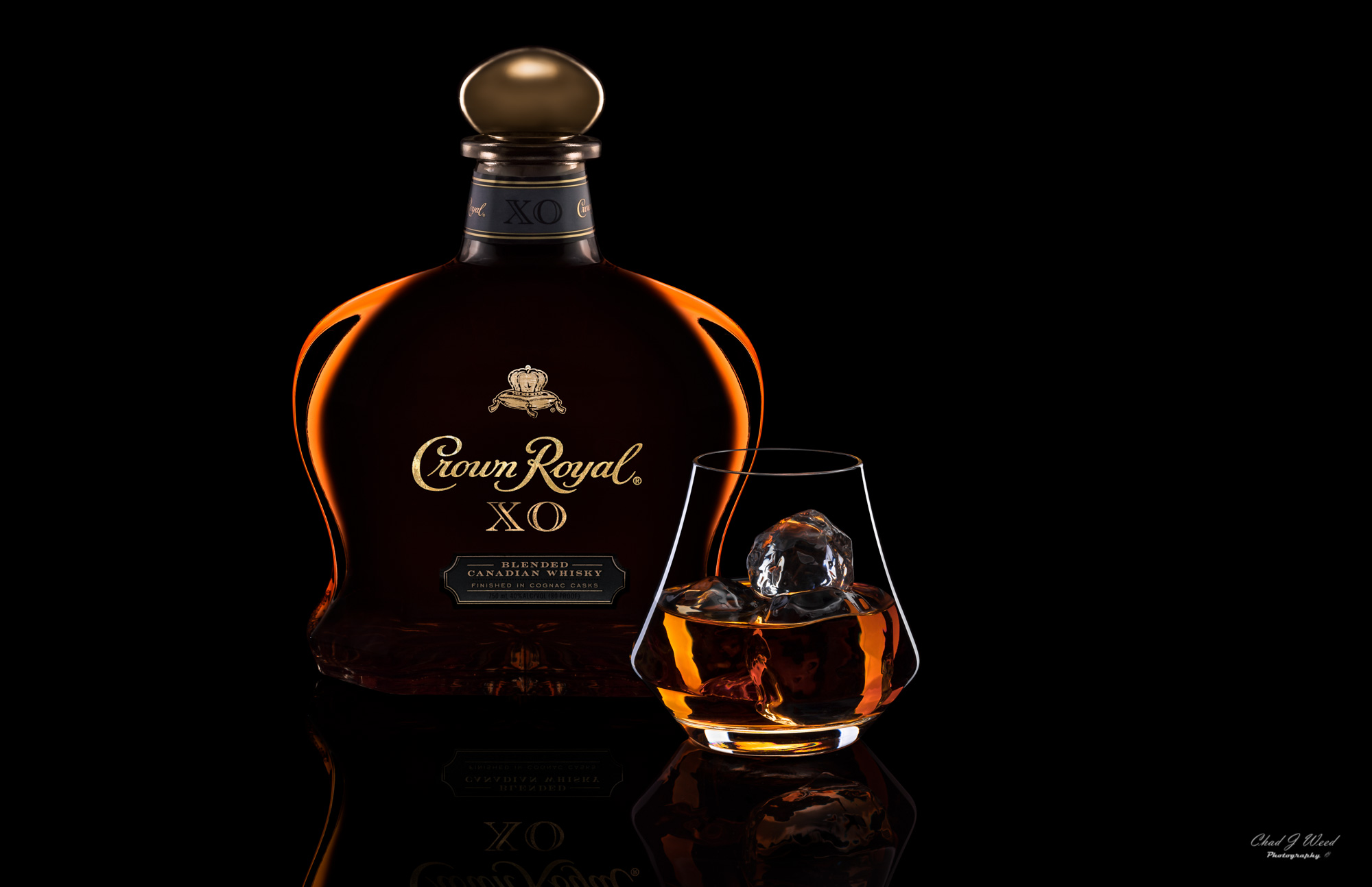 Crown Royal XO by Arizona Commercial Beverage Photographer Chad J Weed