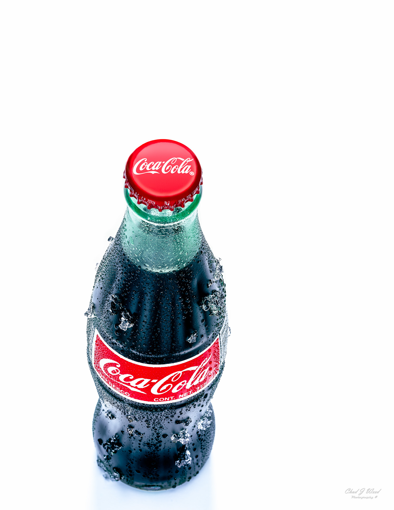 Coke Bottle by Arizona Commercial Beverage Photographer Chad J Weed