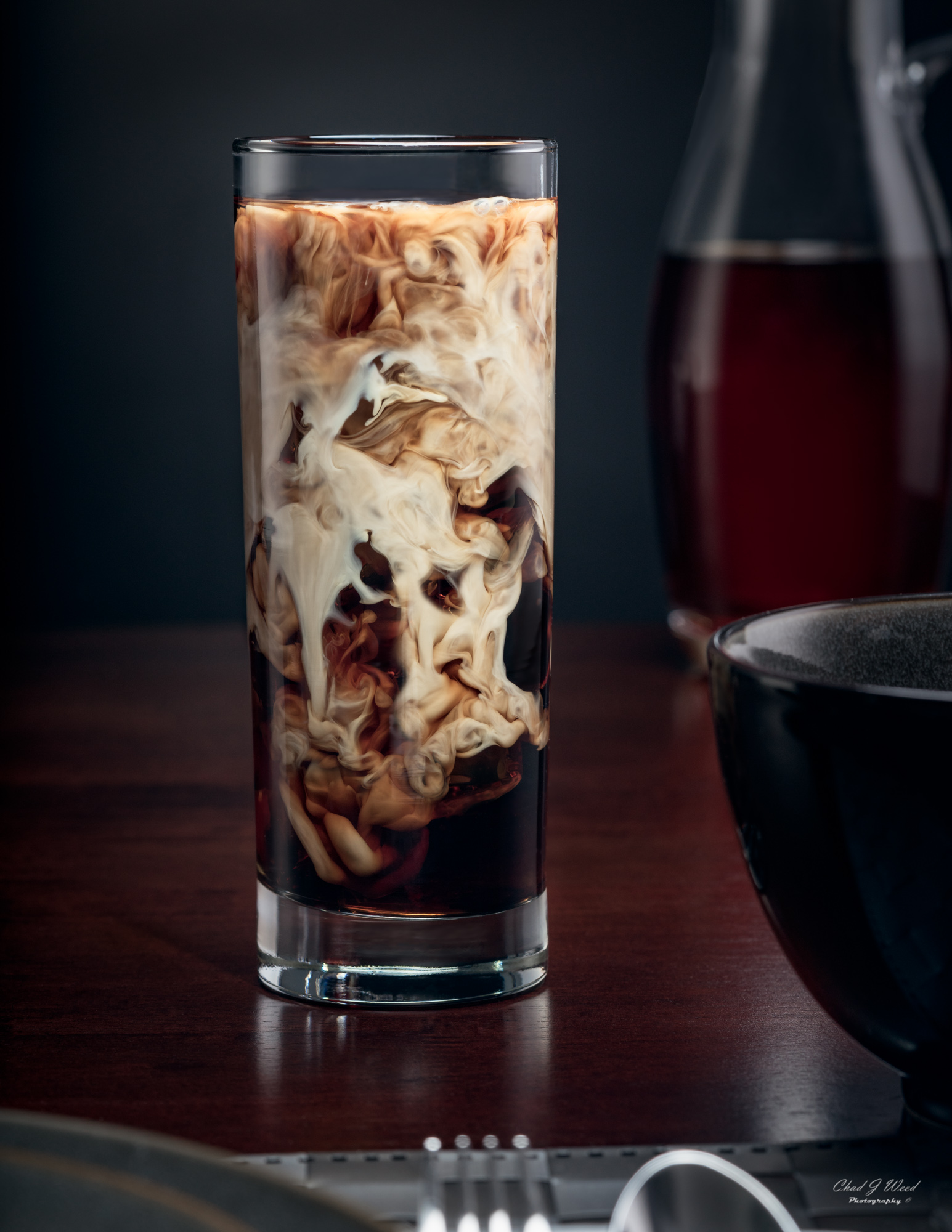 Iced Coffee by Arizona Commercial Beverage Photographer Chad J Weed