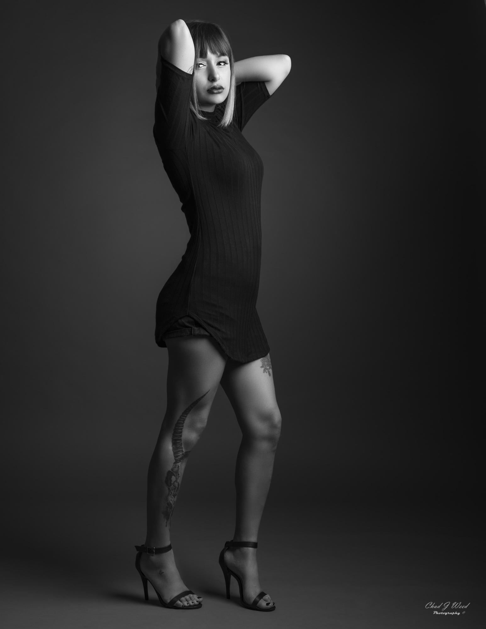 Myrian Fashion Model by Mesa Arizona Portrait Photographer Chad Weed