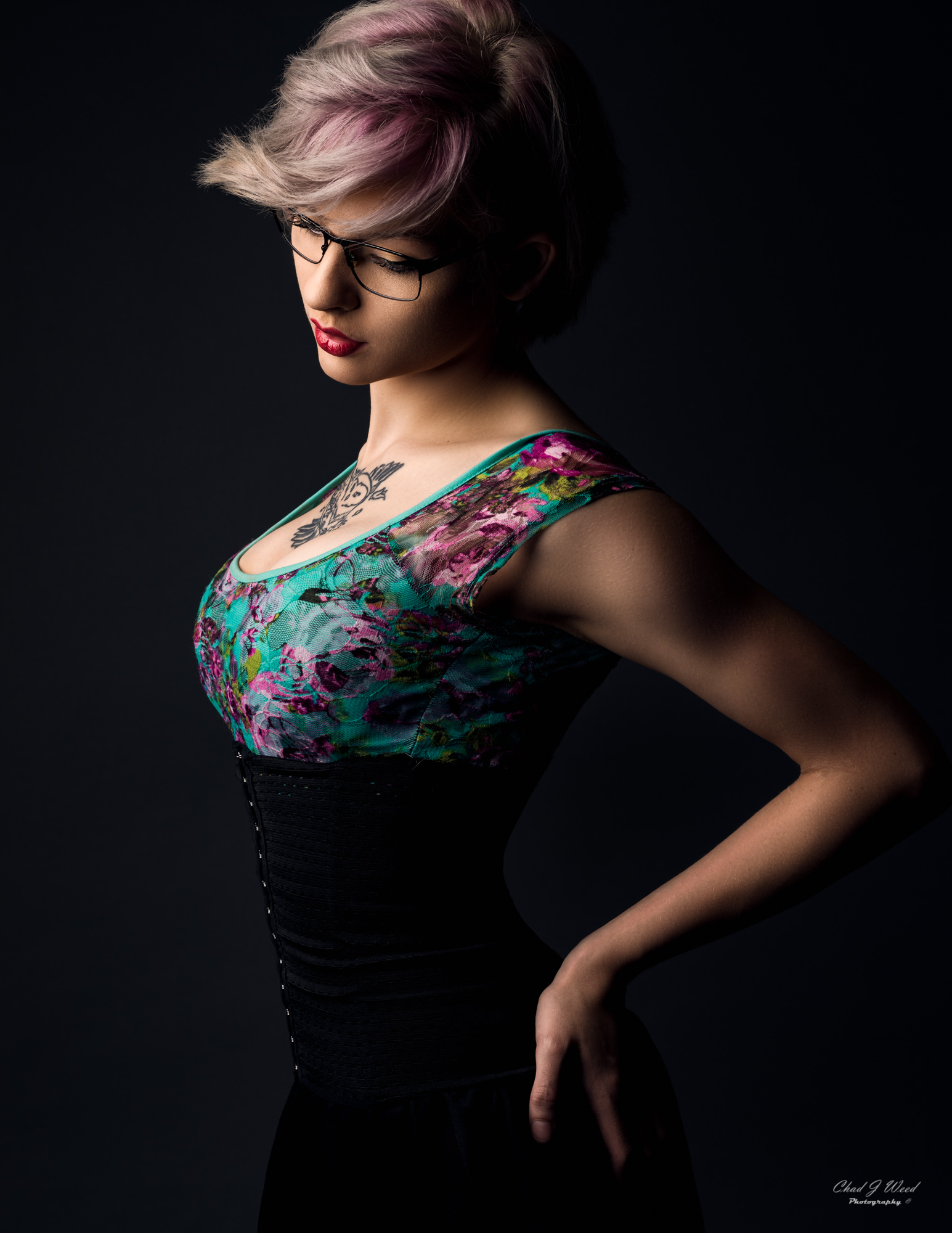 Melissa Fashion Portrait by Mesa Arizona Portrait Photographer Chad Weed