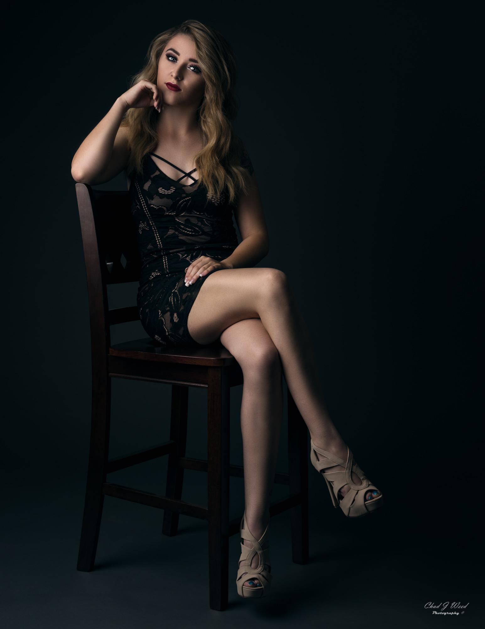 Amber Fashion Portrait by Mesa Arizona Portrait Photographer Chad Weed