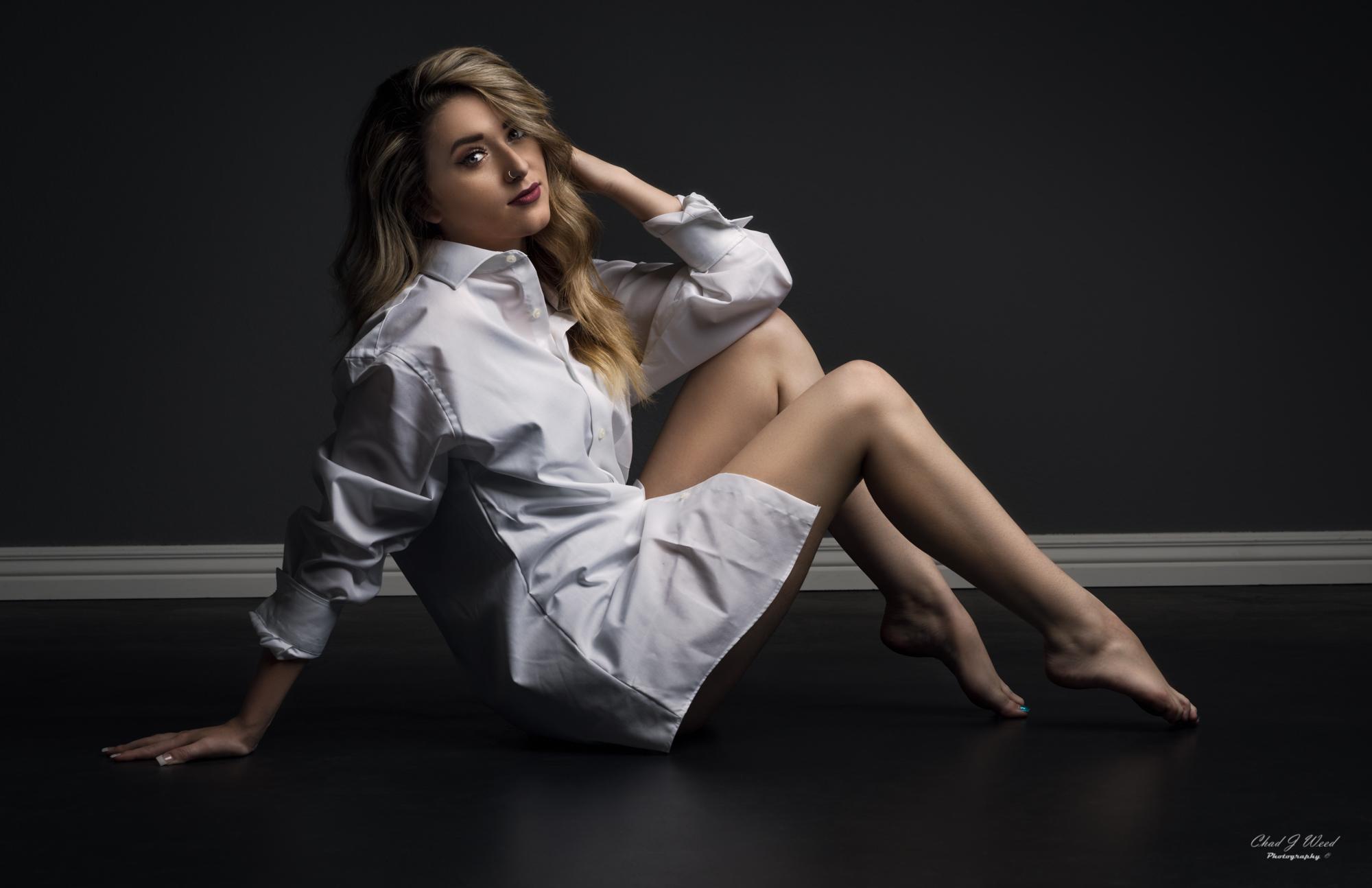 Amber Fashion Boudior by Mesa Arizona Portrait Photographer Chad Weed