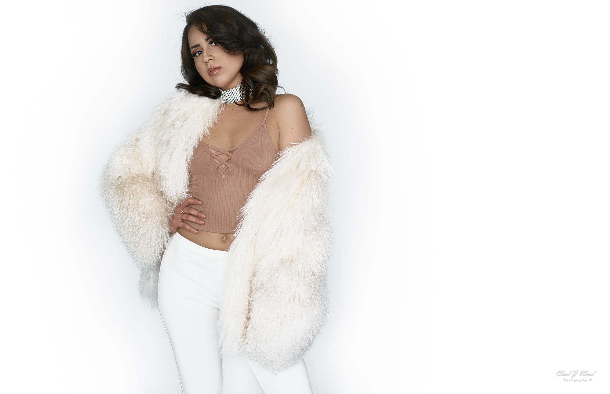 Carissa Glamour Model by Mesa Arizona Portrait Photographer Chad Weed