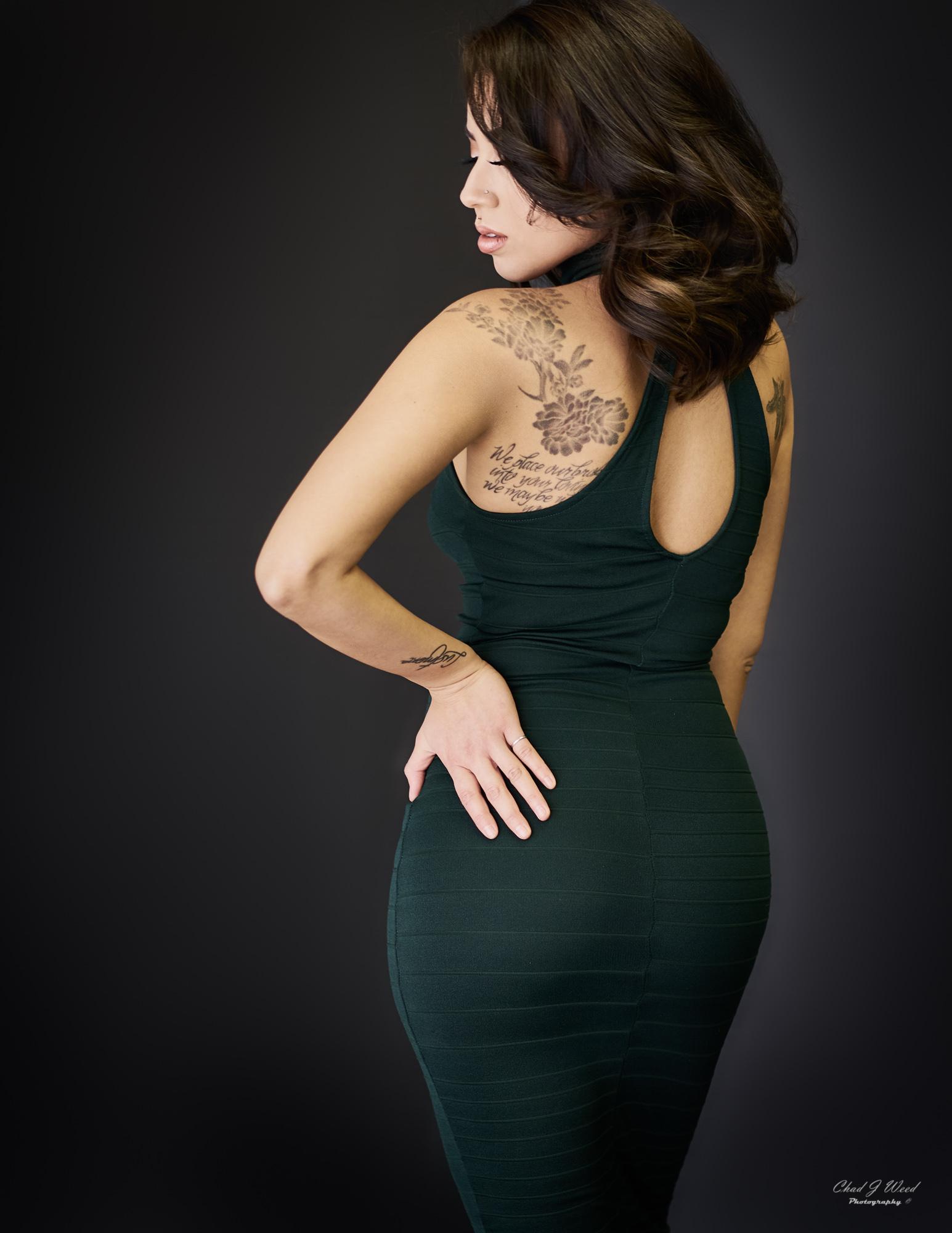 Carissa Elegant by Mesa Arizona Portrait Photographer Chad Weed