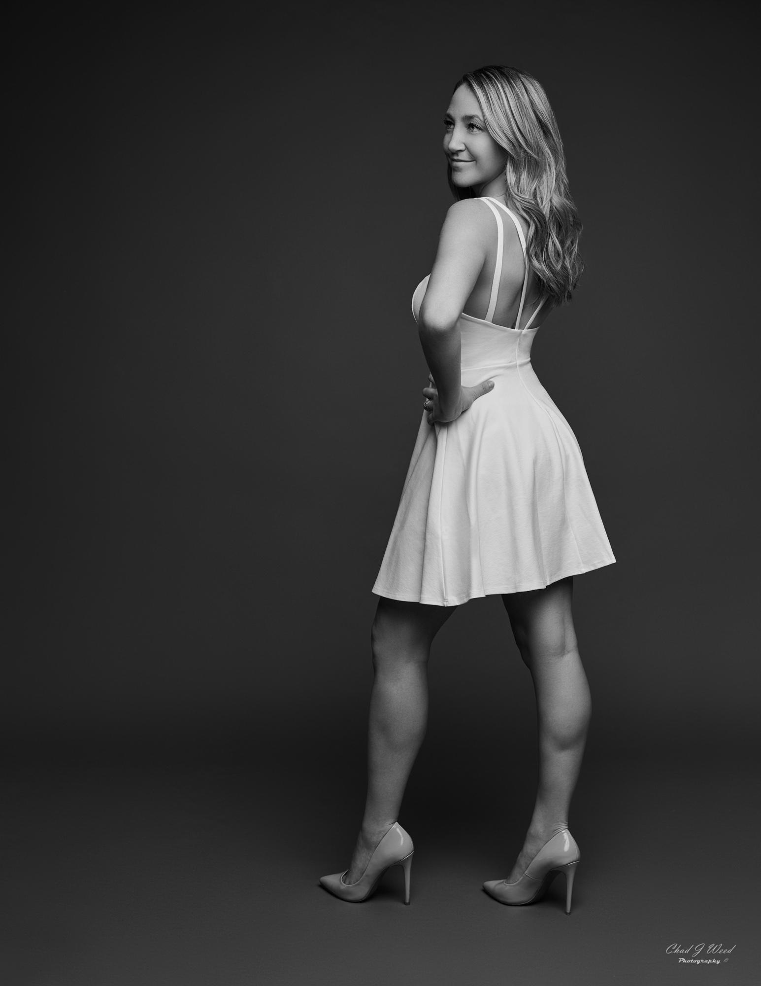 Kristen Figure Model by Mesa Arizona Portrait Photographer Chad Weed