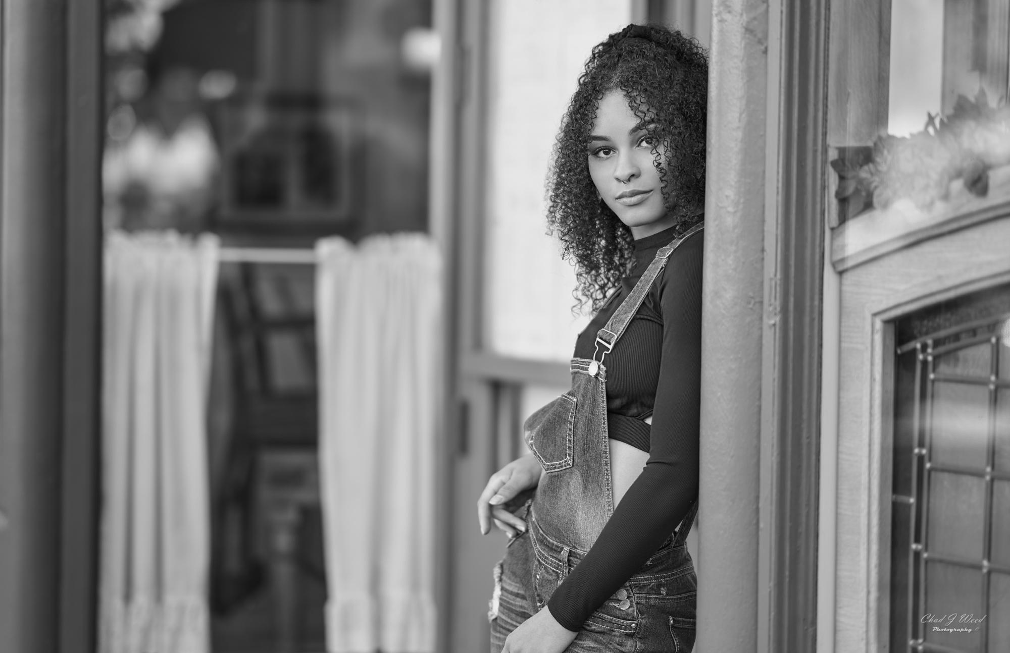 Mariah Editorial Beauty Shoot by Tempe Arizona Portrait Photographer Chad Weed