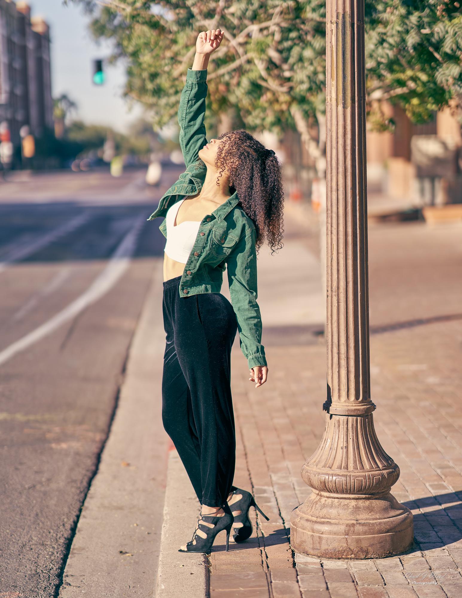 Mariah Dance Shoot by Tempe Arizona Fashion Portrait Photographer Chad Weed