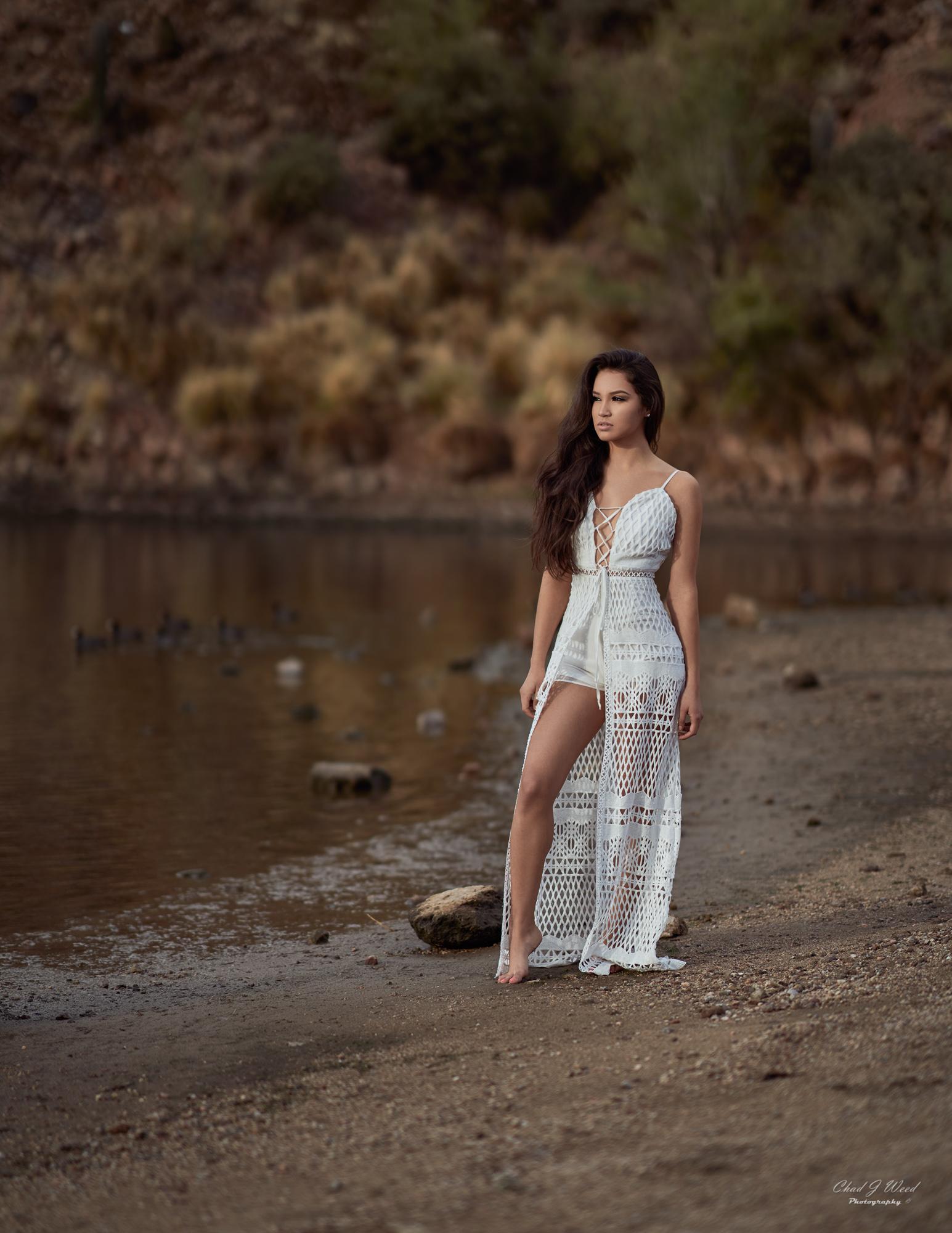 Zari Fashion at Saguaro Lake by Arizona Portrait Photographer Chad Weed