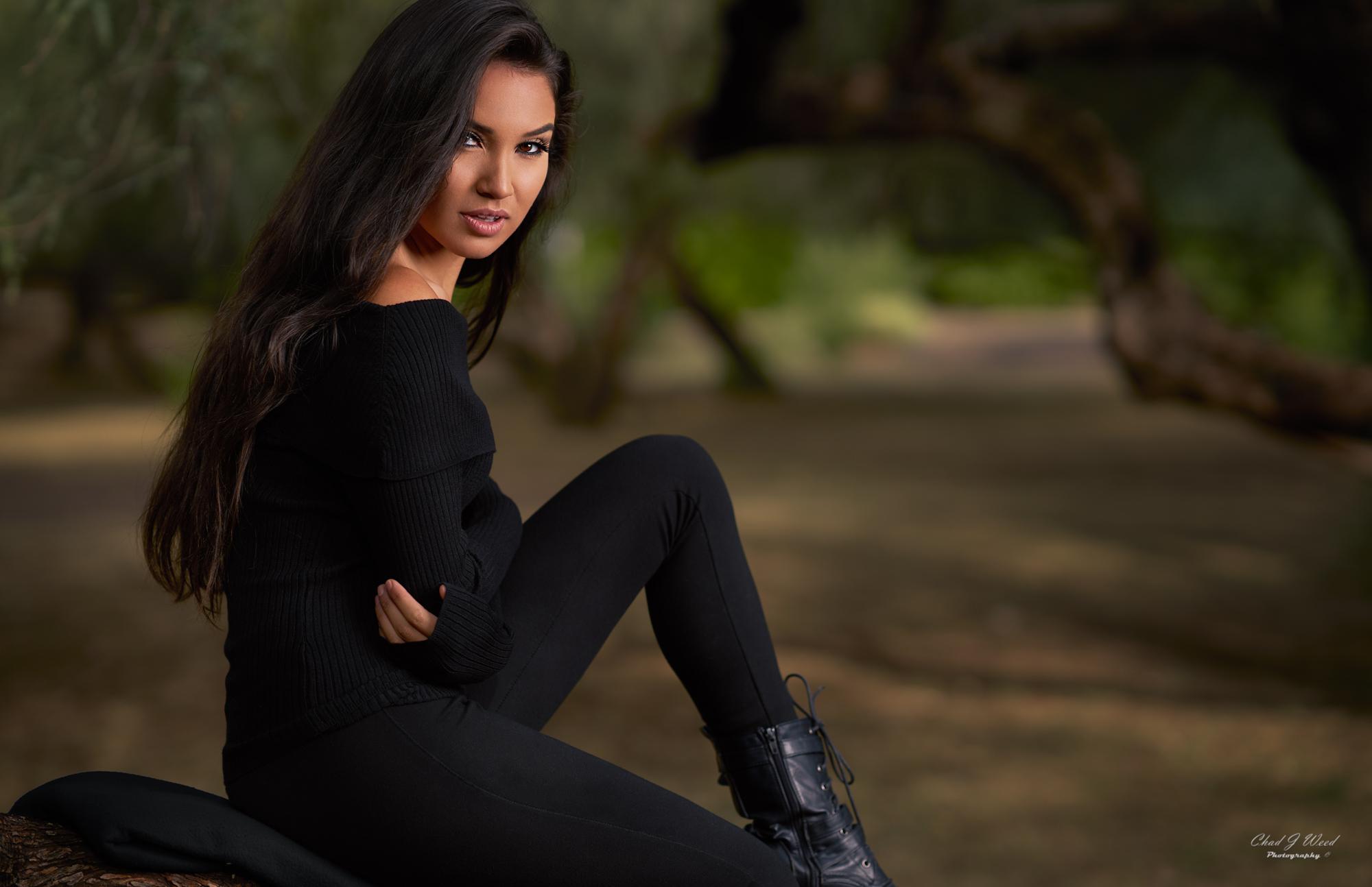 Zari Fashion Model at Saguaro Lake by Arizona Portrait Photographer Chad Weed