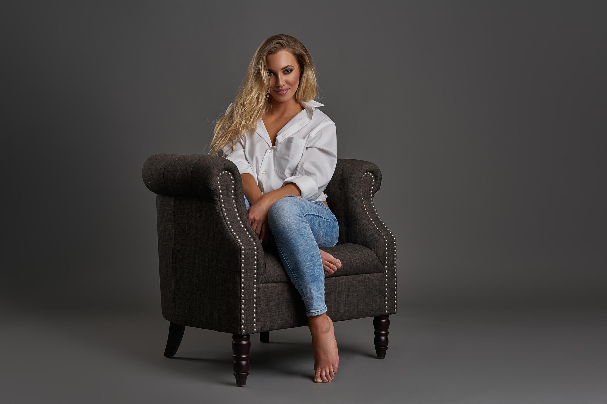 Lexi Fashion Model by Arizona Fashion Portrait Photographer Chad Weed