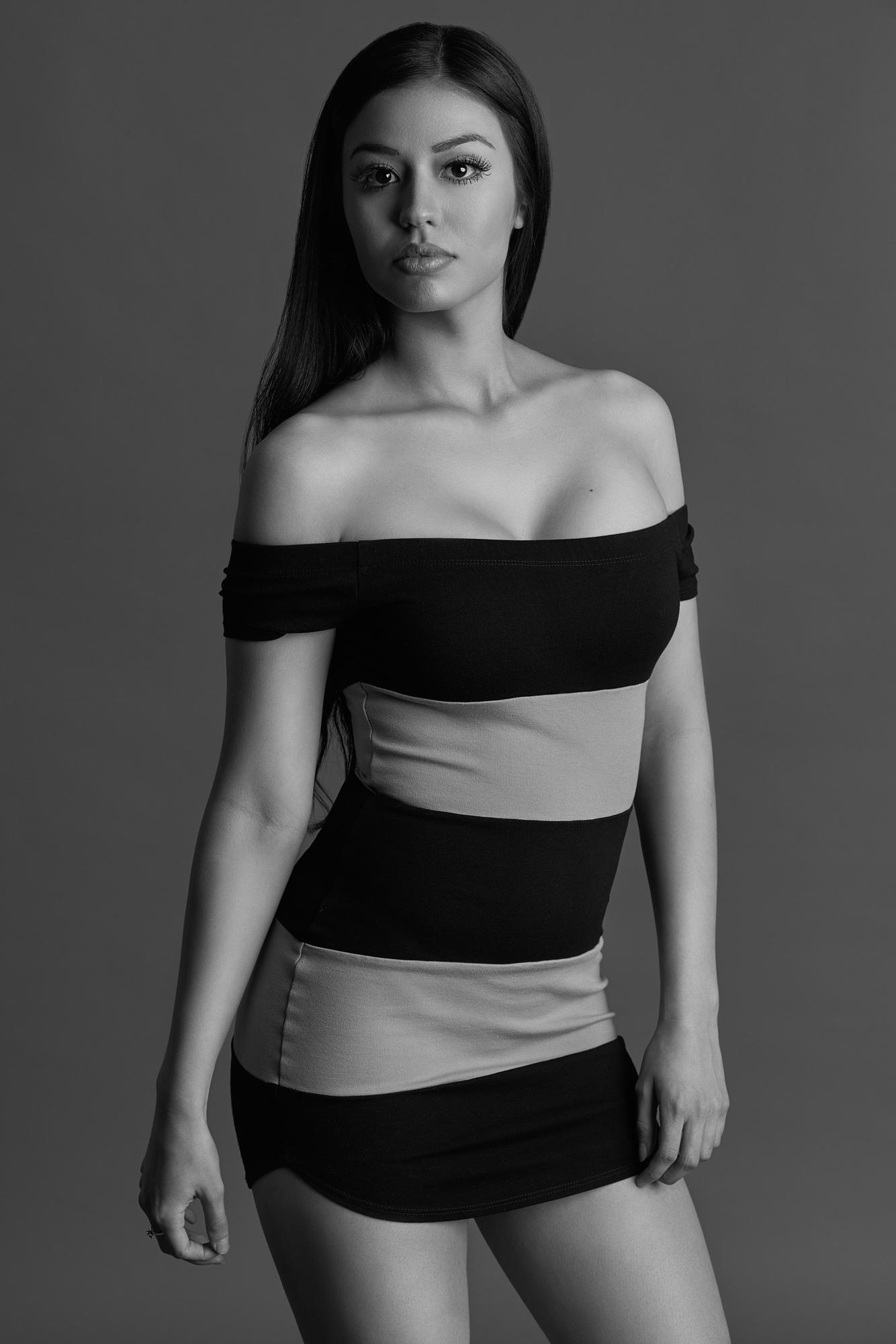 Veronica Fashion Model by Mesa Arizona Fashion Portrait Photographer Chad Weed