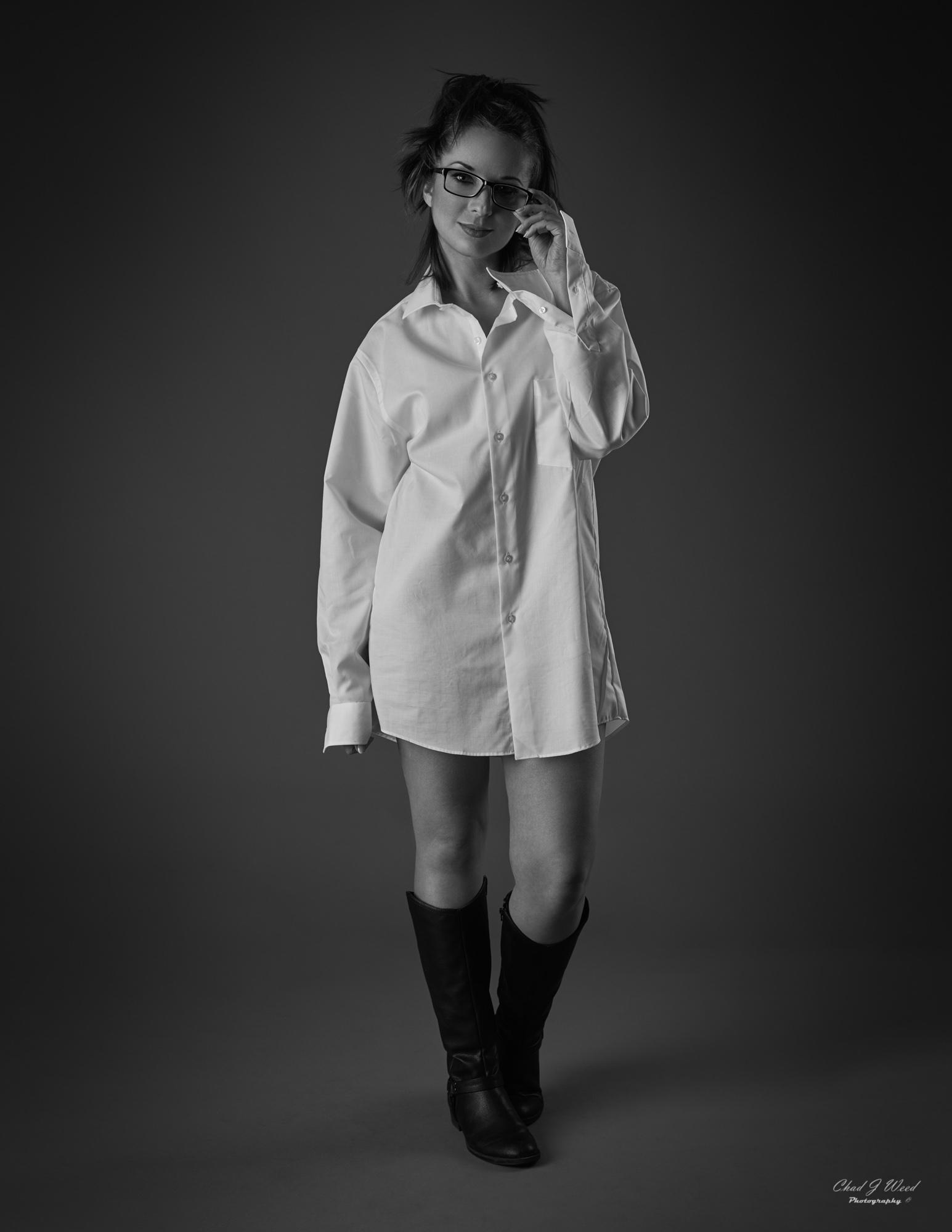 Kika Fashion Model by Mesa Arizona Fashion Portrait Photographer Chad Weed