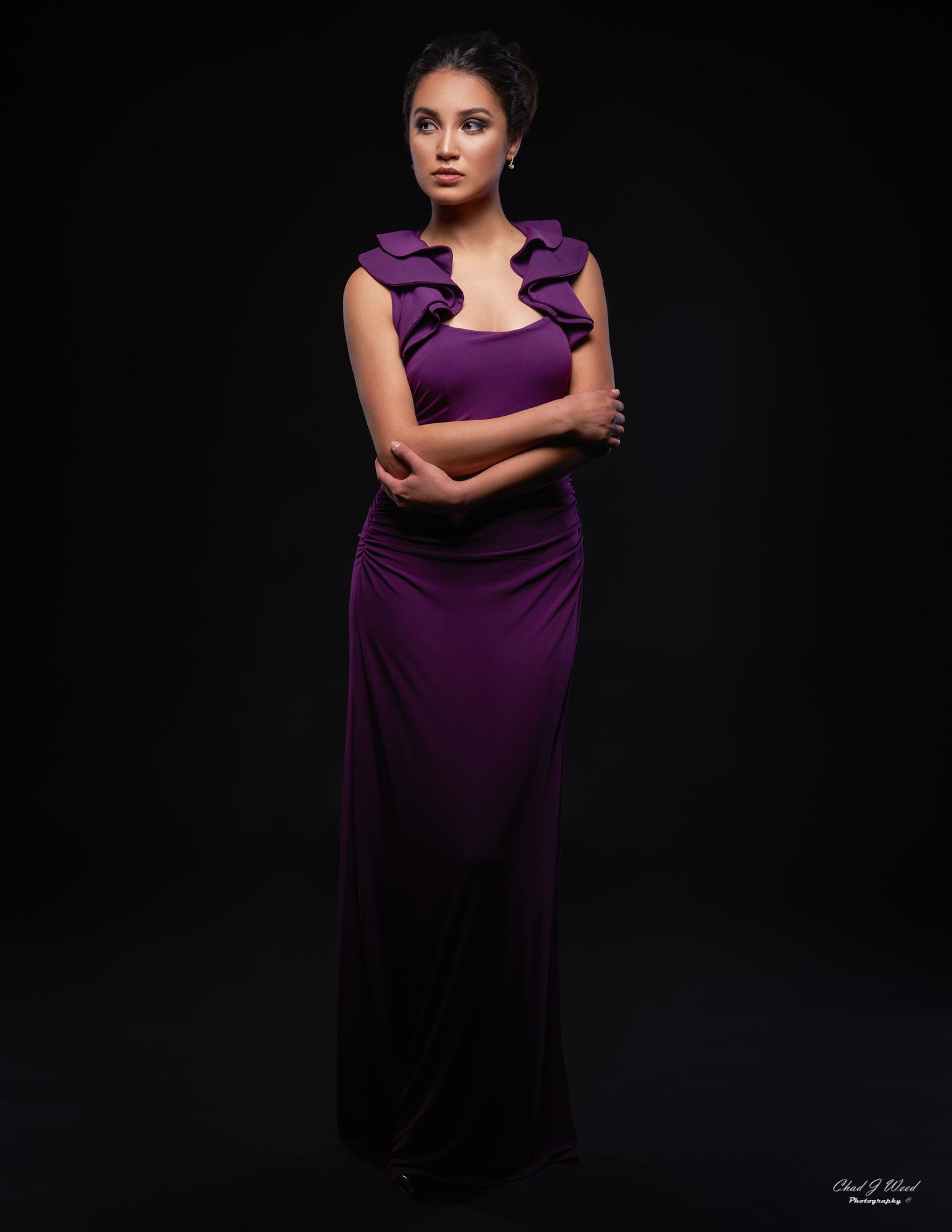 Zari Glamour Model by Mesa Arizona Fashion Photographer Chad Weed