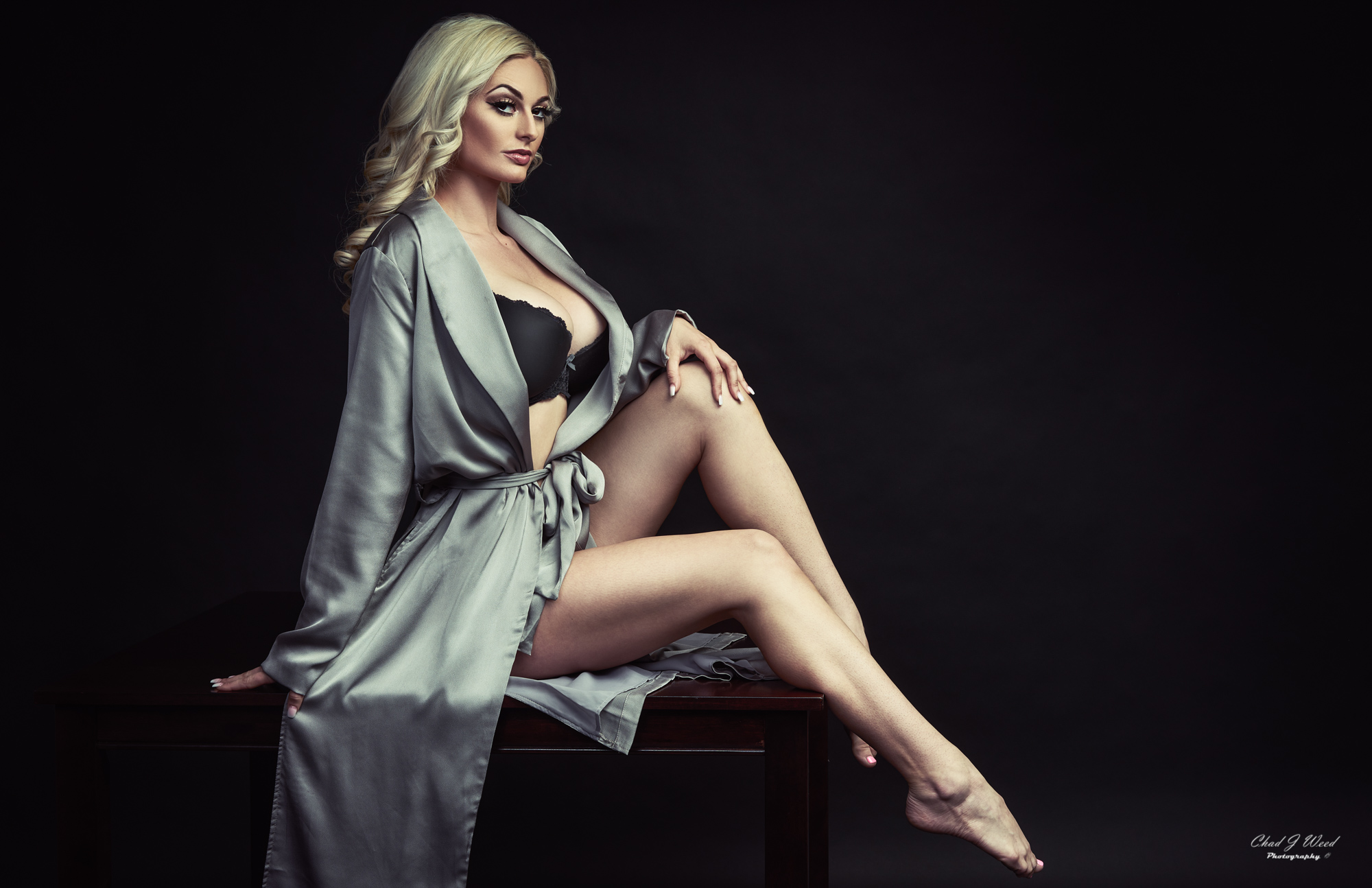 Glamour Model Cassie by Mesa Arizona Glamour Photographer Chad Weed