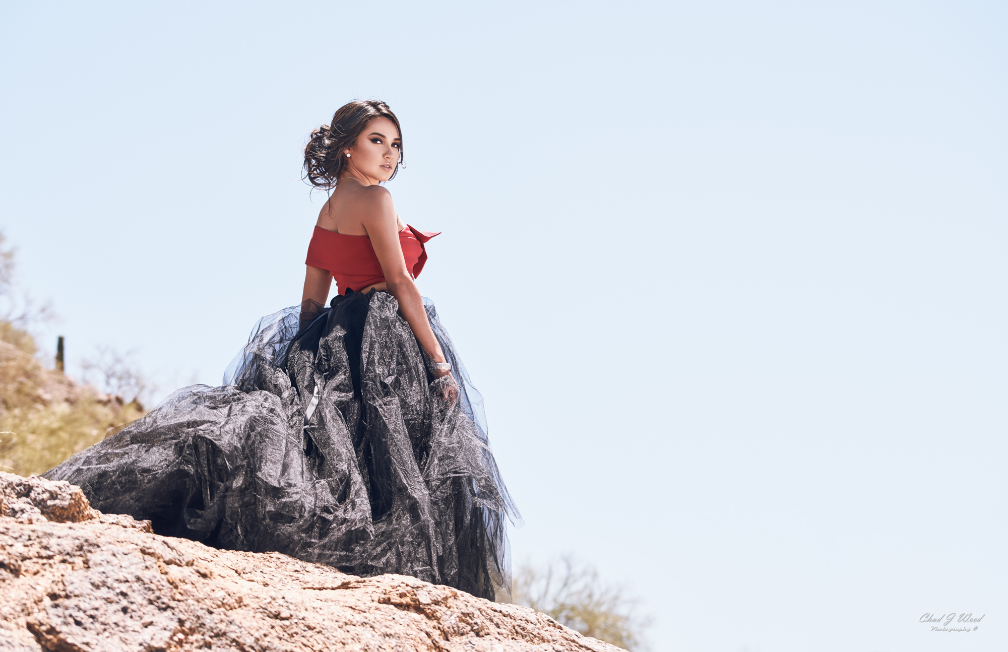 Fashion Model Zari by Mesa Arizona Fashion Photographer Chad Weed