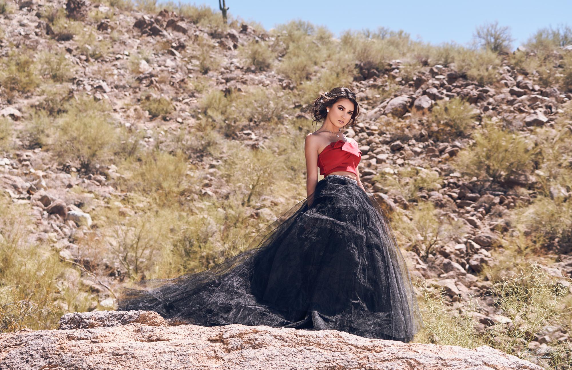 Glamour Model Zari by Mesa Arizona GlamourPhotographer Chad Weed