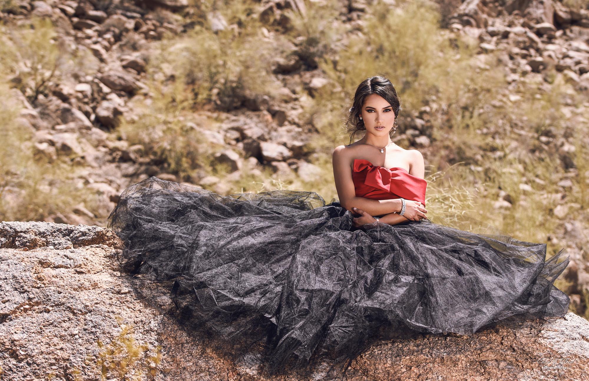 Beauty Model Zari by Mesa Arizona Beauty Photographer Chad Weed