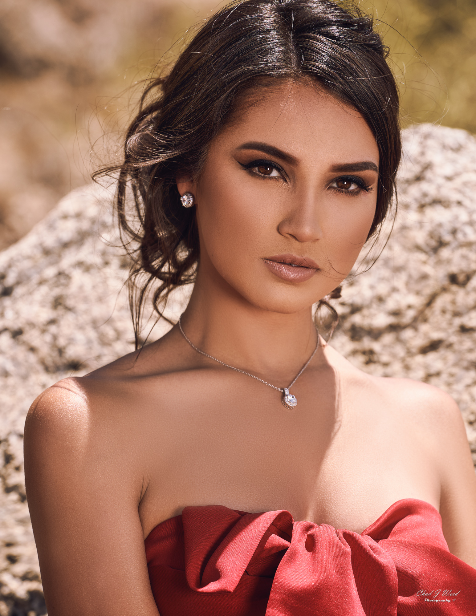 Zari Glamour Model by Mesa Arizona Glamour Photographer Chad Weed