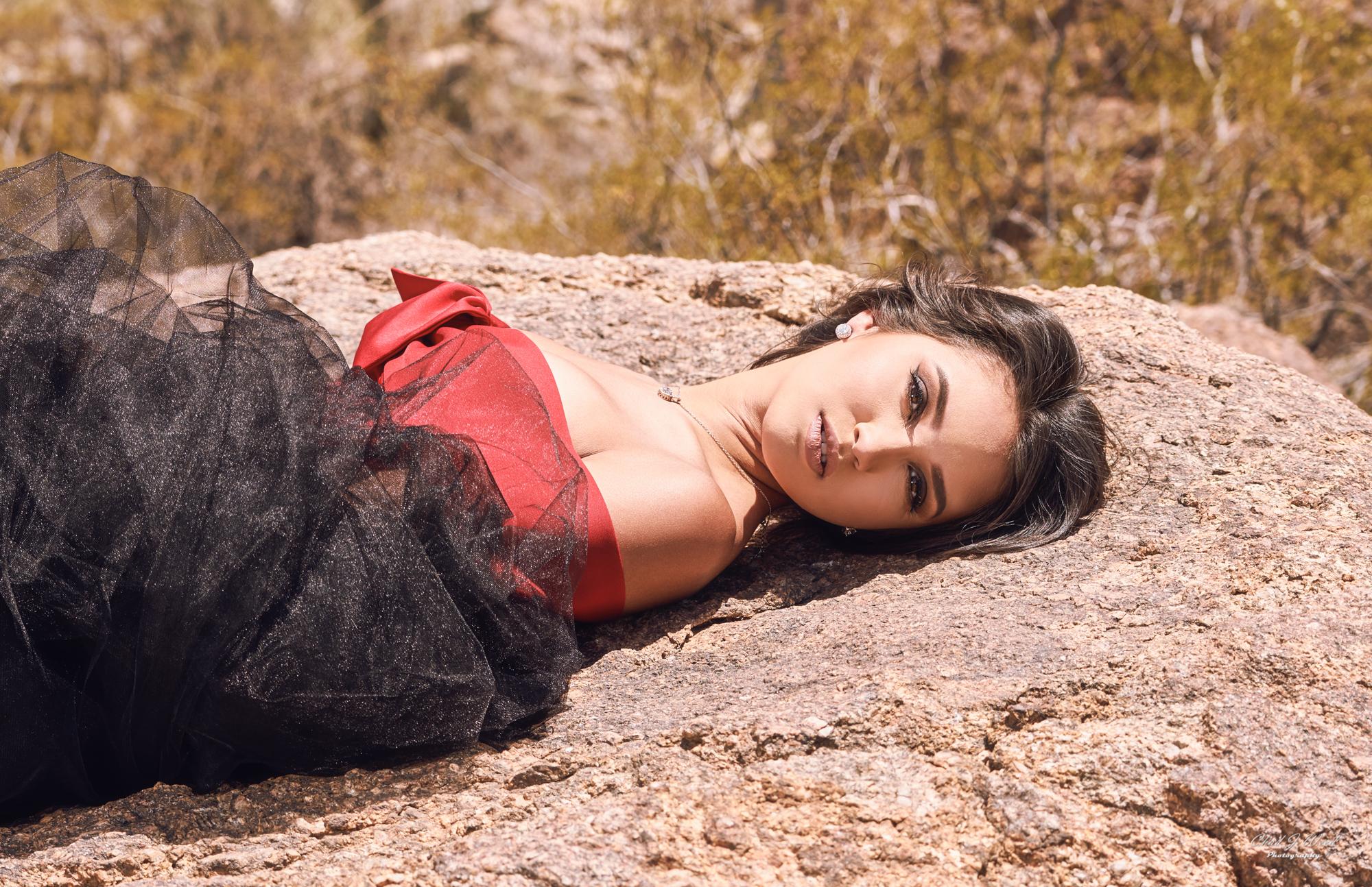 Zari Fashion Model by Arizona Fashion Photographer Chad Weed